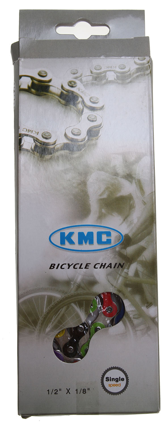 "BMX KMC Z510HX Rainbow Bike Chain 1/8"" - $29.95"