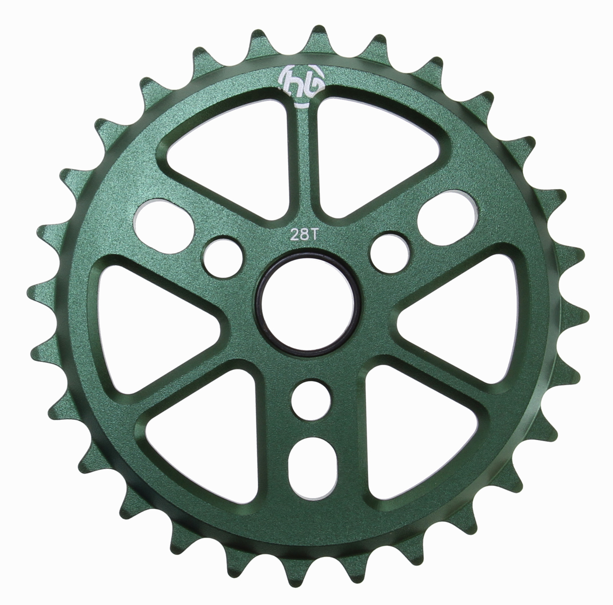 BMX Made from 6061 Aluminum, this sleek and lightweight sprocket has weight saving cut outs without sacrificing strength. Key Features of the Hoffman Dinky 6061 Alloy Sprocket Bronze 28T: Machined 6061 Aluminum 5.5mm thick 3 crank position holes 2.4oz (25t) - $18.36