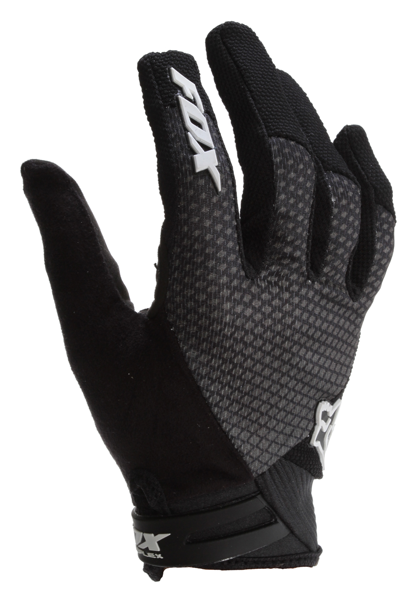 Motorsports Key Features of the Fox Reflex Gel Bike Gloves: Fox Reflex Gel Gloves: Through the strategic use of our exclusive gel palm insert, we've created the ultimate glove that makes those grueling rides just a bit more bearable. Lightweight, flexible top hand fabrics offer maximum comfort & performance Intelligently placed gel palm inserts help distribute even pressure to relieve hand fatigue Double layer Ax Suede Fit palm offers exceptional grip & durability Silicone fingertip print for added grip Absorbent thumb wiping surface Low profile wrist tab closure - $27.95