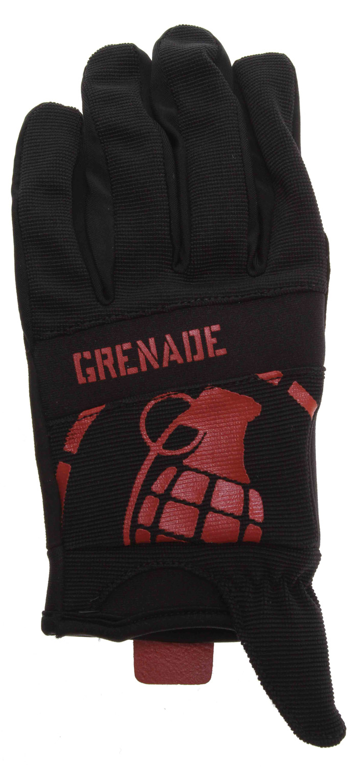 MTB Grenade Disobey Bike Gloves Black/Red - $17.95