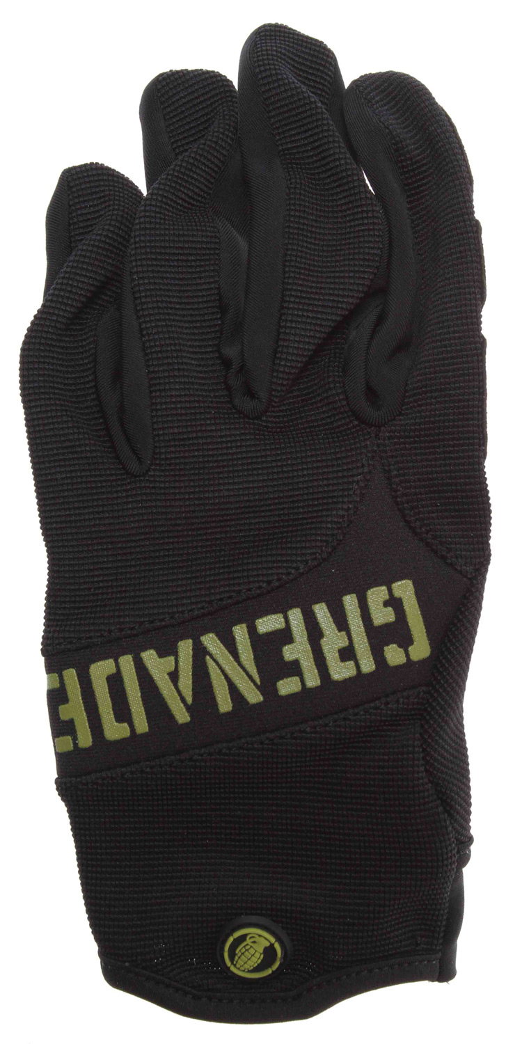 MTB You need to take care of your hands and protect your grip when riding your bike. These Grenade G-Ride bike gloves are both stylish and comfortable. They have a silicone finger print tip that gives you an enhanced grip, and the spandex cuff is easy to wear and comfortable. These Grenade gloves are also stylish and will make you look and feel great on your next ride.Key Features of the Grenade G-Ride Bike Gloves: Spandex cuff Synthetic suede palm & thumb patch Silicone finger tip print for enhanced grip - $11.37