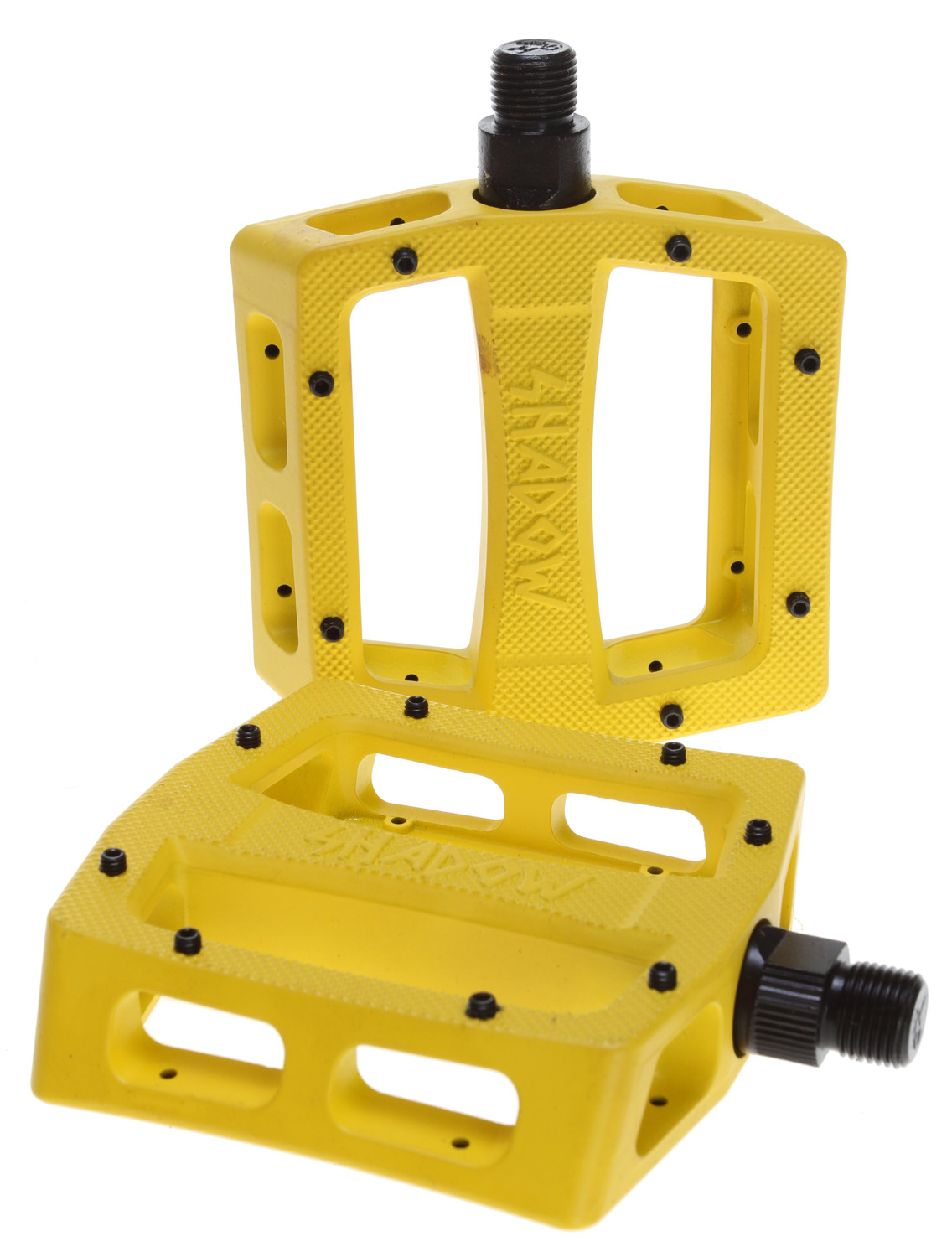 "BMX Key Features of the The Shadow Conspiracy Ravager Alloy Loose Ball Bike Pedals Yellow 9/16"": Pedal Type: Platform Intended Use: BMX Pedal Spindle: 9/16"" Spindle Material: Chromoly Material: Alloy Wght/Dims: 1.4 lbs. 5.5 x 5 x 3 - $35.95"