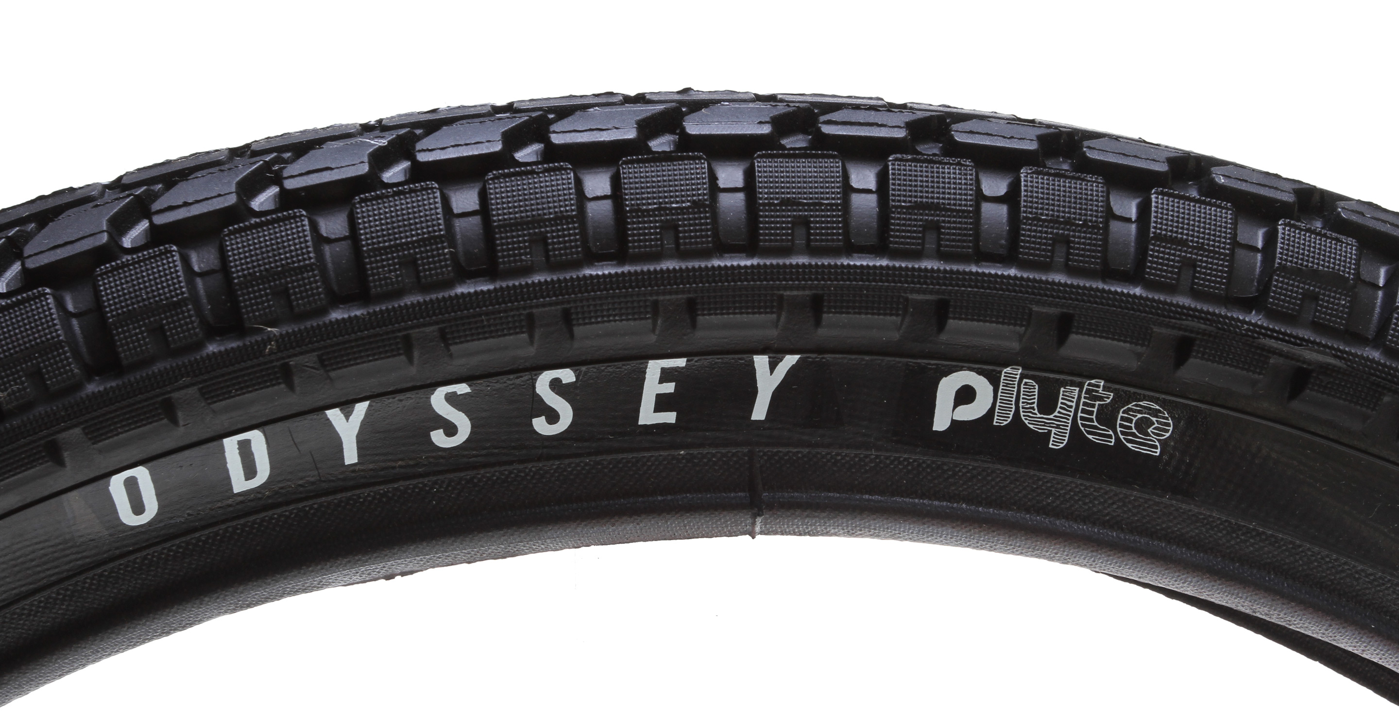 "BMX Odyssey Dirt Path tires feature the design of the Path, only with a dirt specific tread. Specific sidewalls reduce weight while increasing strength.Key Features of the Odyssey Dirt Path P-Lyte BMX Tire 20 X 2.2"": Standard steel bead with lighter weight P-Lyte casing Intended Use: BMX Defined Color: Black Color Tread/Side: Black/Black Tire Type: Clincher Tire Diameter: 20"" Labeled Width: 2.2 ISO Width: 55 mm ISO Diameter: 406 / 20"" BMX Tire Bead: Steel PSI: 90 PSI Wght/Dims: 1.61 lbs. 20 x 20 x 1.5 - $29.95"