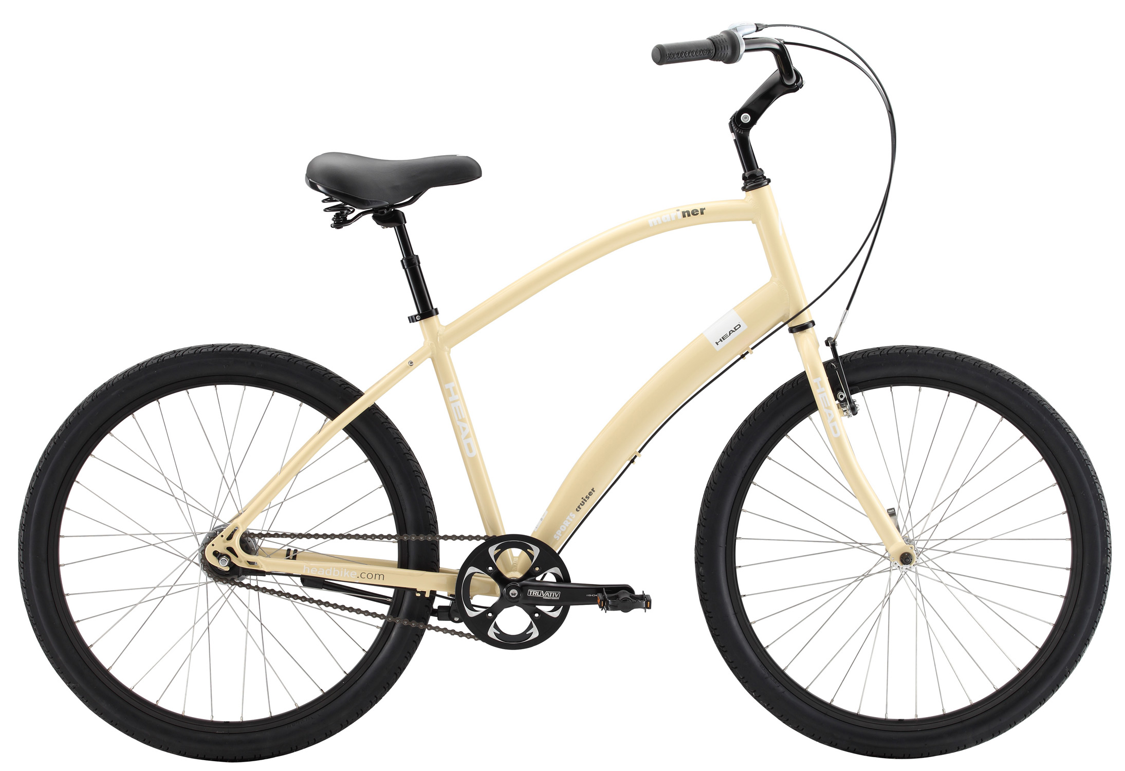 MTB Key Features of the Head Mariner Bike: Shimano Nexus 7 speed 7005 Aluminium frame Comfort seat and suspension seat post Slick Cruiser tire Size; 26''x18''/ 20'' - $659.95