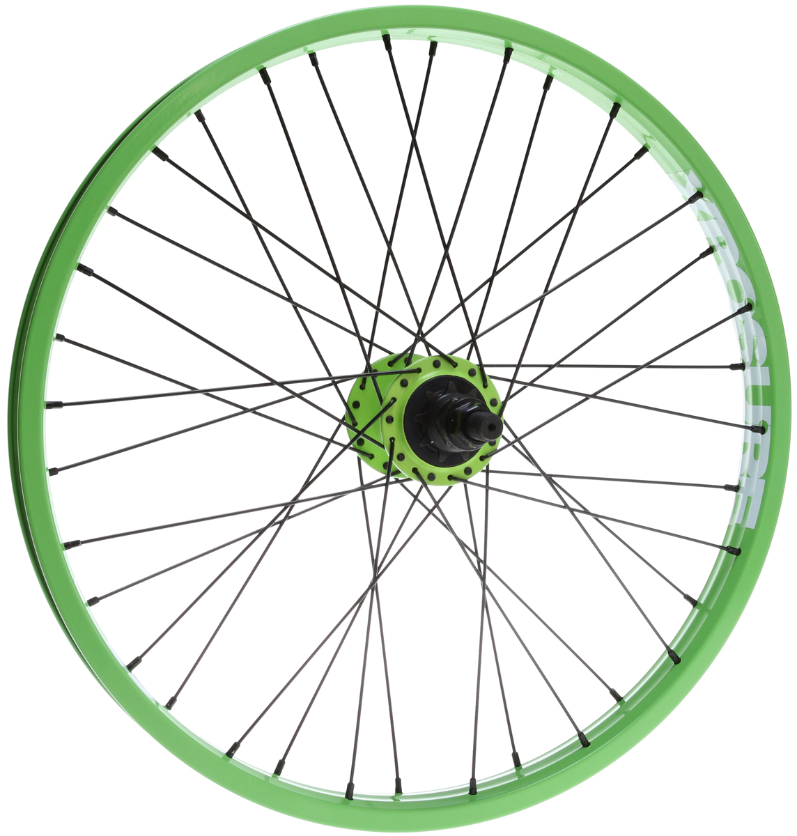 "BMX Xposure Mid Rear Wheels Green 20"" - $65.95"