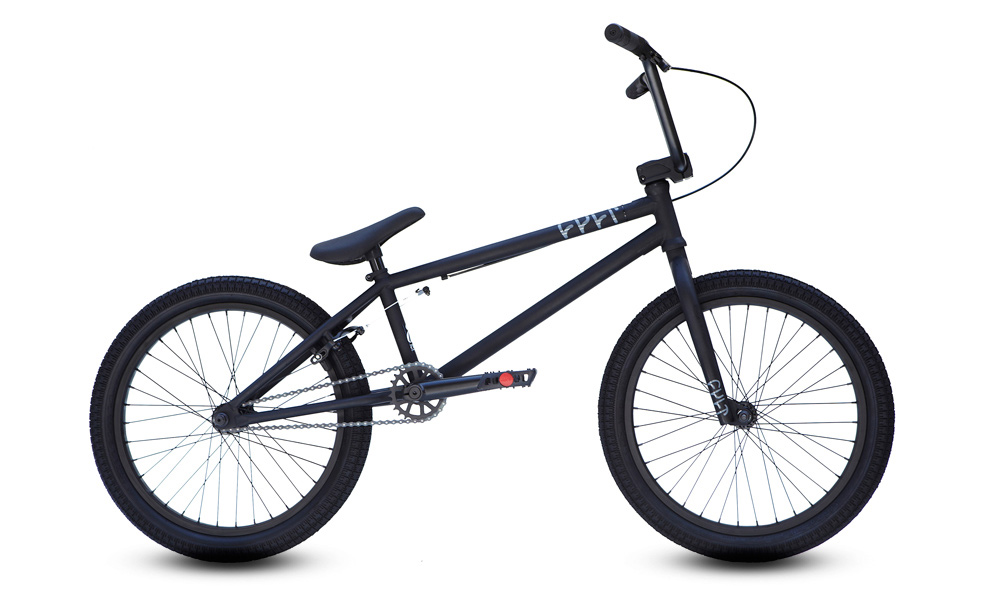 "BMX Key Features of the Cult CC01/A BMX Bike 20"": Dehart grips 25-9 gear ratio/rear sealed hub Cult 410 chain Odyssey twisted pedals 8x28 handlebar Embossed 1 piece seat combo 20.75 top tube length - $399.95"
