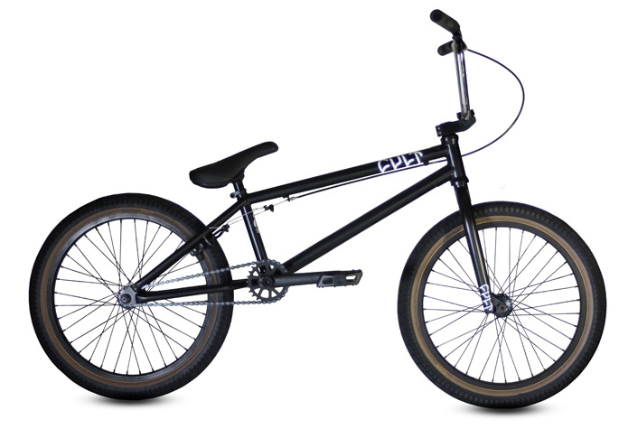 BMX Key Features of the Cult CC02 BMX Bike: Dehart Grips 25-9 gear ratio/rear sealed hub Cult 410 chain Cult pedals Occult pivotal seat Cult Dehart 2.1 tires 21 top tube length 100% chromoly - $459.95