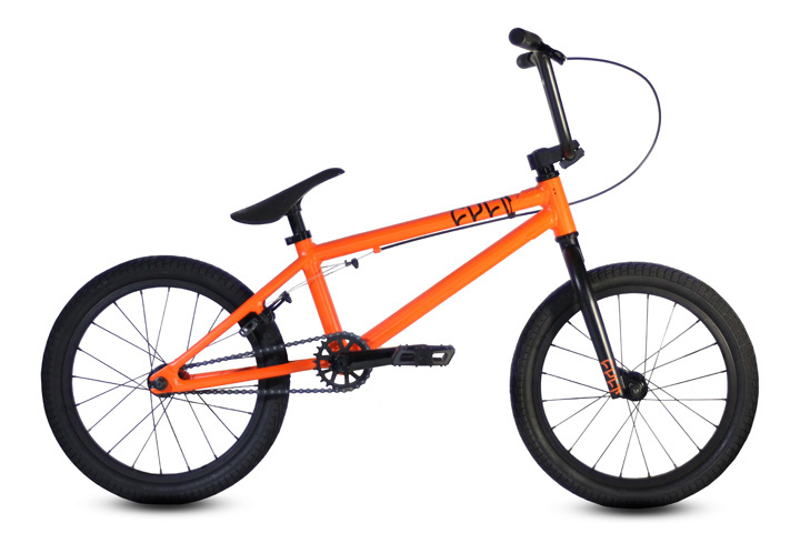 BMX Key Features of the Cult Juvi BMX Bike: 100% 6061 aluminum frame 18 inch wheels 25x9 gearing sealed rear cassette 3pc cromo cranks with sealed mid bottom bracket dehart juvi grips cult chain - $359.95