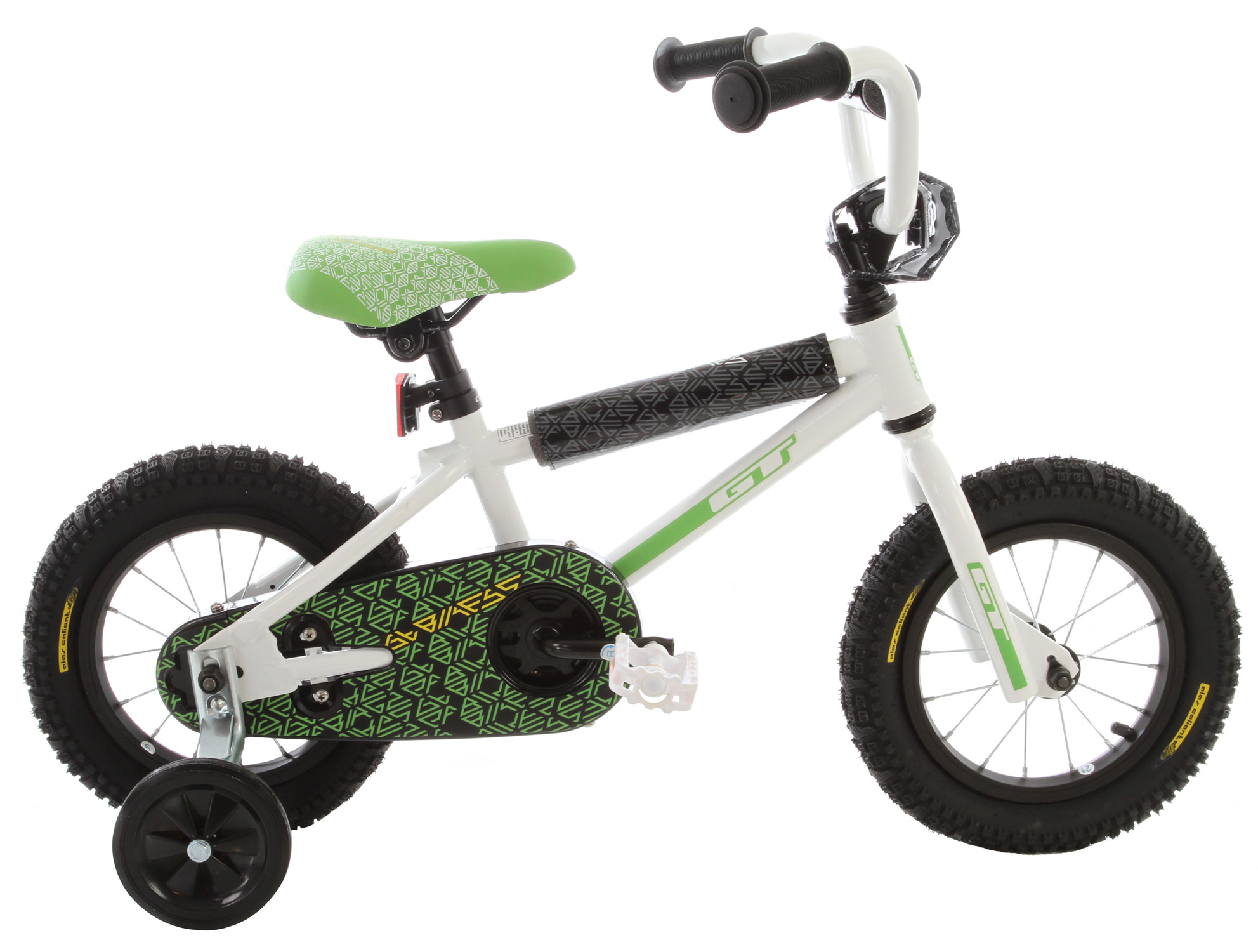 "BMX Key Features of the GT Mach One Mini Cb BMX Bike: Frame: Hi-Ten Steel Fork: Hi-Ten, 3/8, 1"" Crank: Steel, 1 pcs, 92mm Steel 33T Bottom Bracket: America Loose Ball Pedals: GT Mini Plastic Rear Cog: KT Cro-Mo 16T Chain: KMC Z410, Single Rims: HJC P-6Ns 16 F, R Hole Tires: GT Wing, 2 1 F, R Wire Hubs: Freewheel 16 F, R Hole Brakes: Coaster Brake Handlebars: Steel, 460 Stem: Threaded, 32 Headset: Threaded Saddle: GT Mach1 Min Rail Seatpost: Steel, 25.4 X 220 - $127.99"