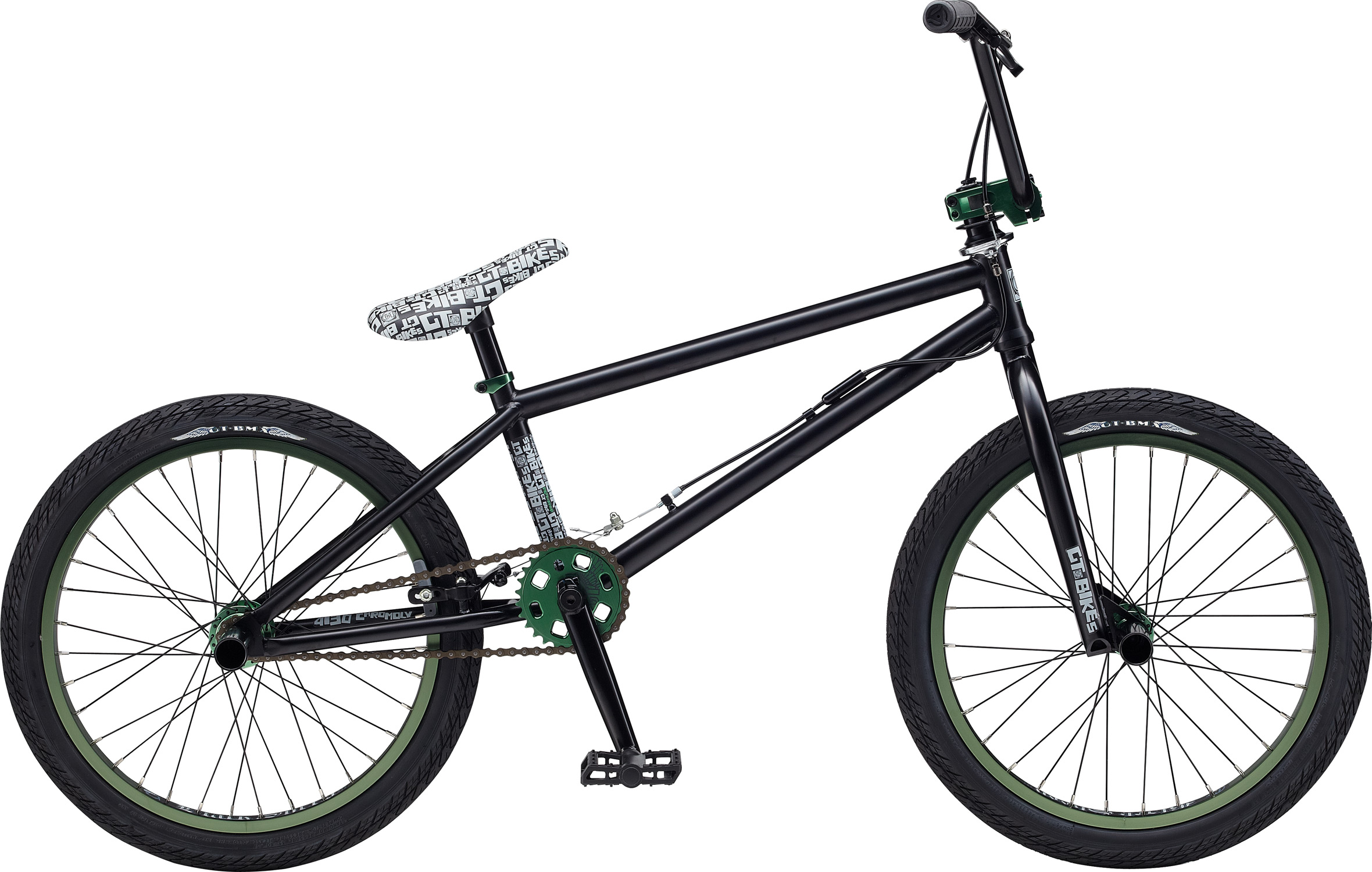 "BMX Key Features of the GT Performer BMX Bike 26"": Colors: Chrome, Blue Frame: 2013 Classic Performer Design w/ Bent D/T And Seat Stand Stays, Full Hi-Ten, American BB , 14mm Dropouts, Seat Stay V-Brake, External 1-1/8"" H/T Fork: GT Classic Performer Design, Cr-Mo 1-1/8"" Steerer, Hi-Ten 31.8 O.D. Blades, 14mm axle Chain: KMC Z410 Crank: GT Tubular Cr-Mo 3Pc., 175mm Arms, Cold Forged Cr-Mo 19mm x 8T Spline Spindle, 34T Steel Chain Wheel GT Design Bottom Bracket: American Loose Ball Bearing Pedals: GT Low Profile Large Size Platform Design, PP Material, Boran Axle Cog Set: 17T Freewheel Rims: Alex Y303 36F/R Hole Tires: GT Freestyle Design 26"" x 2.1"" F/R Hubs: GT Alloy Mohawk 36H Rear Hub: GT Alloy Mohawk, Flip/Flop FW, Aluminum, 36H, 110mm Old, Black Anodize, 22.2mm Washers, 14mm Axle CP Nuts, GT Logos Spokes: 14G Nipples: Brass Brake Levers: Tektro 313A Alloy V-Brake Handlebar: GT Perfromer 100% Cr-Mo; 690mm Width, 100mm Rise, 9 Degree Sweep,32 Degree Tip, Classic Performer Cross Bar Design 22.2MM Cross Bar OD Stem: GT 100% Cold Forged 1-1/8"" Machined GT Logo On Front Cap, 50mm Ext Grips: GT Wings Logo 130mm Single Compound Headset: 1-1/8"" Threadless, Steel Saddle: GT Classic Performer Design Seat Post: Steel, 25.4mm x 200mm Seat Clamp: Alloy, single bolt Extras: Two pair Cold Forged Steel Pegs - $299.95"