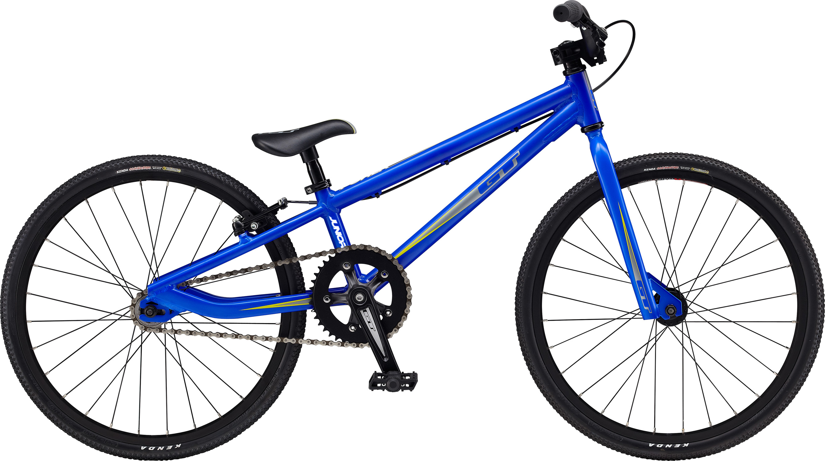 "BMX Key Features of the GT Power Series Jr BMX Bike: Frame: NEW Straight Gauge, 6061 Aluminum Front Suspension: GT, 100% Cro-Mo, 28.6 X 22.2 Oval, 3/8, 1-1/8"" Crankset: GT Al, 145mm AL 41T Wheels/Hubs: GT Mohawk 28H Hole Brakes: Tektro BX1V - $299.95"