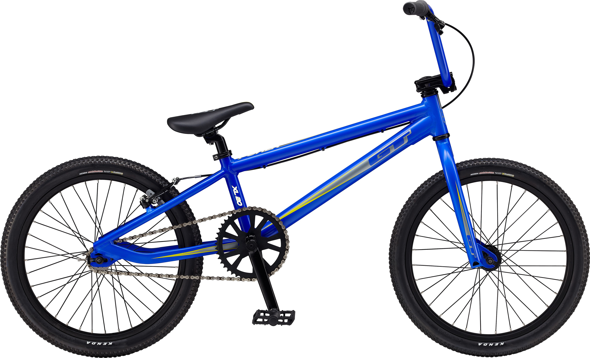 "BMX Key Features of the GT Power Series Pro XL BMX Bike 20"": Frame: NEW Straight Gauge, 6061 Aluminum Fork: GT, 100% Cro-Mo, 31.8-28.6 Taper, 3/8, 1-1/8"" Crankset: GT Cro-Mo, 3 Pcs, 16T, 170mm AL 44T Wheels/Hubs: GT Mohawk 32 F, 36 R Hole Brakes: Tektro BX-310 - $259.95"