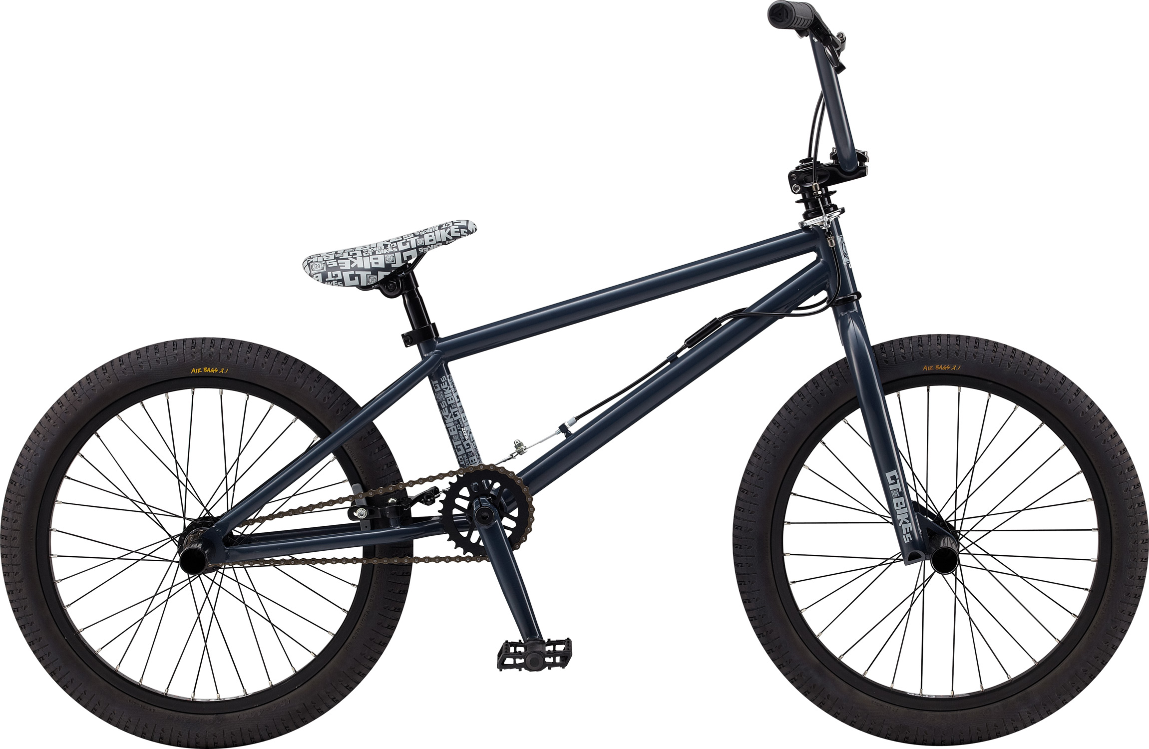 "BMX Key Features of the GT Zone BMX Bike 20"": Frame: NEW Straight Gauge, Hi-Ten, Dumped C/S, LubidS/S, 14mm Dropouts, C/S Mounted Brake Mounts Front Suspension: GT, Full Hi-Ten, 31.8-28.6 Taper, 3/8, 1 1/8"" Crankset: GT 3 Pcs Cro-Mo, 8T, 170mm 28T Steel Wheels/Hubs: GT AL Cassette Loose Ball,3/8""F, 14mmr 32F, 36R Hole Brakes: Tektro FX340R - $239.95"