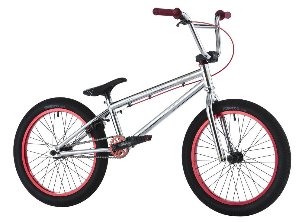 "BMX Key Features of the Hoffman Ontic 18 BMX Bike 18in: 18"" Custom frame, fork design Blitz seat/post combo HB Razz grips with nylon barends 25/9 Drive-train with cassette hub 3-Piece chromo tubular cranks Sealed mid B/B Weight: 24 lbs - $404.95"