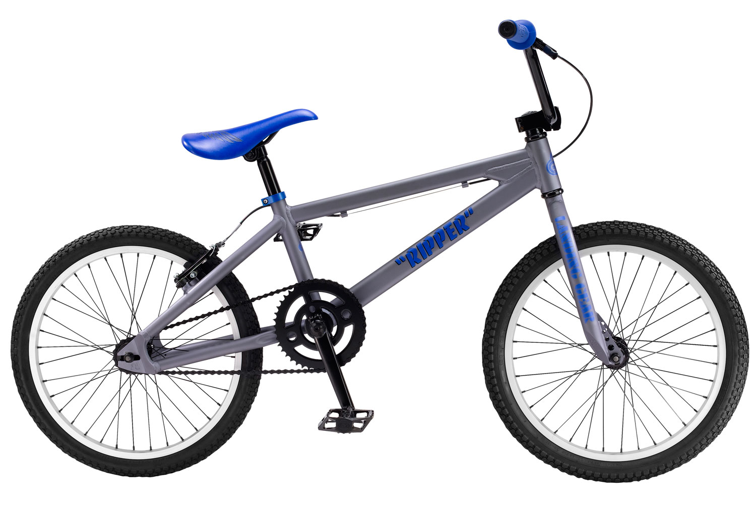 "BMX Shred the course with the SE Ripper BMX Race Bike! It features a 6061 Aluminum Floval Tube to make you light as a feather in air, and a FPD Alloy platform sure to be strong upon landing. It sports SE Racing Alloy 36H Hubs with Alex C1000 Rims, and a 16T Freewheel. See if they can catch you in the fast lane with SE Racing Front Load Alloy, Wing Grip, 27.2 mm Straight Post, and custom Imprinted Racing Cover. Stopping is certainly no issue with the threadless 1 1/8"" Tange, and the Rush V-Brake and 2 Finger Alloys. This hot package weighs a total of 23.30lbs. and is sure to turn some heads at the track!Key Features of the SE Ripper BMX Race Bike: 6061 Aluminum Floval Tubing Fork: Landing Gear SE 3-pc Cr-Mo, 170mm, Euro Sealed Bearing, 43T FPD Alloy Platform, Cr-Mo Axle KMC Z410 Chain SE Racing Alloy 36H Hubs w/Alex C1000 Rims, 16T Freewheel Kenda K-Rad, 1.95"" F, 1.75"" R Rush V-Brake Rush 2 Finger Alloy Tange 1-1/8"" Threadless SE Wing Bar, 25.5 x 7"" SE Racing Front Load Alloy SE Racing Wing Grip SE Racing w/ Custom Imprinted Cover SE Racing Straight Post, 27.2mm Race Plate, SE Plastic Grip End Caps 23.30lbs / 10.60kg - $259.95"