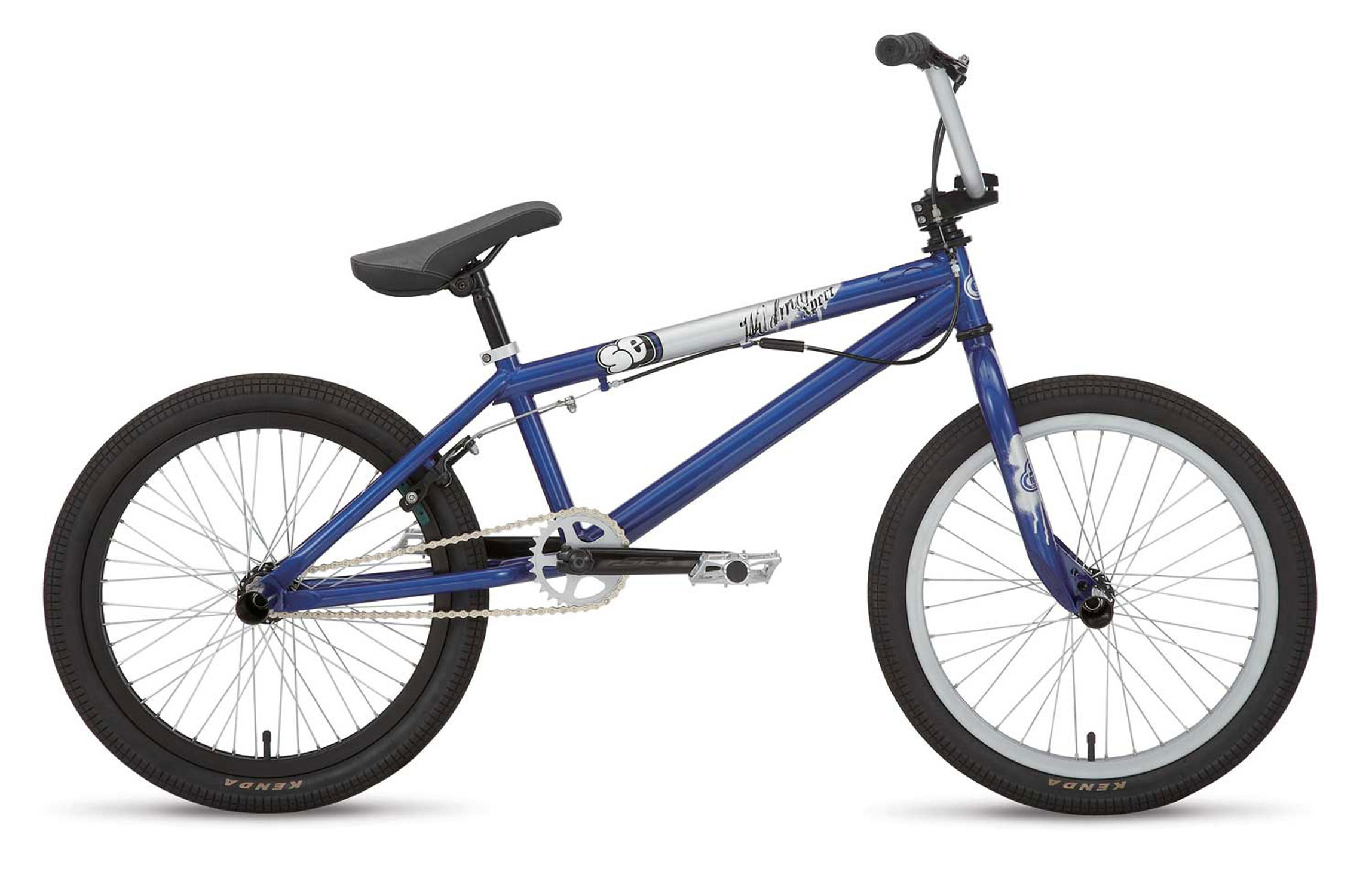 "BMX Key Features of the SE Wildman X-Pert Street Bike: Frame: 100% CR-MO, Mid BB, Removable Rotor Tabs Fork: 100% CR-MO Landing Gear, 14mm Dropouts Headset: Tange 1-1/8"" Threadless Handlebars: CR-MO, Wild Bar, 25.5"" X 7"" Stem: SE Top Load 1-1/8"" Alloy Grips: SE Bubble Jump Grip Brake Lever: Tektro XL320 2 Finger Alloy Brake(s): Tektro FX-340 U Brake, Linear Pull, Soft Compound Shoes Seat: SE Slim Seat w/Custom Cover, 8mm Rails Seat Post: SE Straight Post 25.4 Crankset: SE 3-pc Cr-Mo, 175mm, Mid Sealed Bearing, 28T Alloy Chain: KMC Z410 Pedal: Wellgo Alloy Platform, CR-MO Axle Rim: Alex G-22 Aluminum, 36H F, 48H R, Stainless 14g Spokes Front Hub: SE Alloy, 36H, 14mm Axle Rear Hub: SE Alloy, 48H, 14mm, 10T Driver Tires: Kenda K-1040, 2.1 Front & Rear Extras: SST Oryg Rotor, 2 Pegs, SE Plastic Grip End Caps - $257.95"