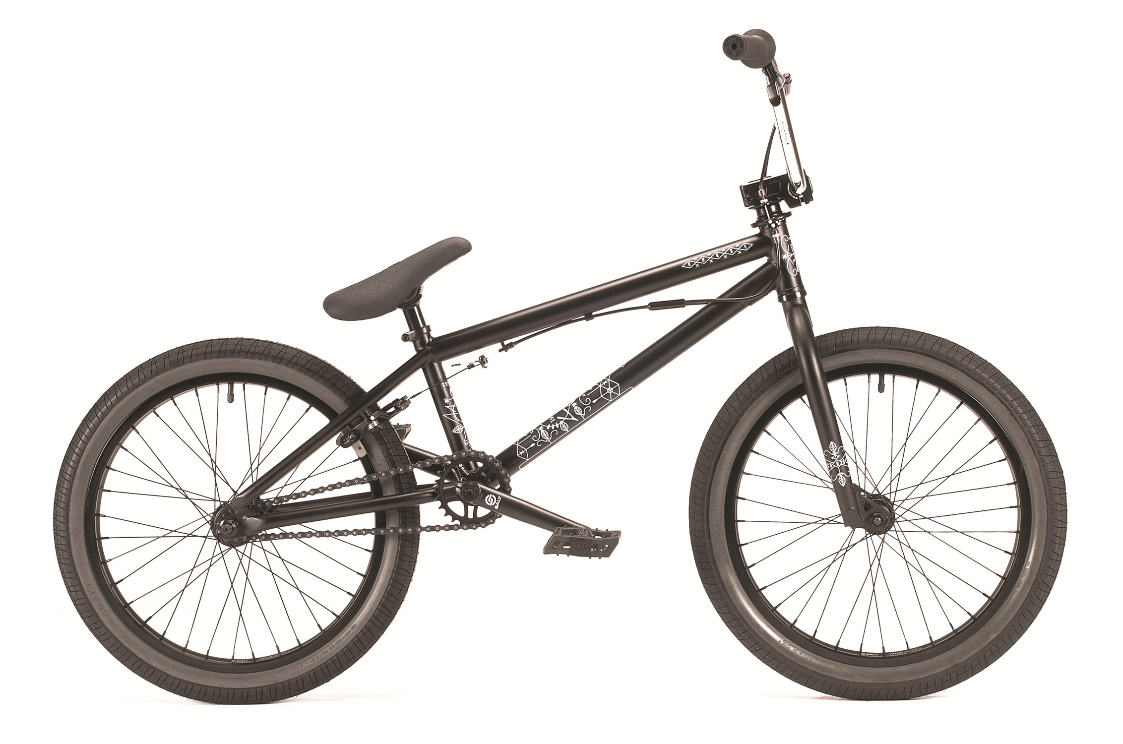 "BMX The Curse is brand new in the range featuring a 4130 CrMo DT, 25t-9t gearing, and a pivotal seat. Most entry level completes just can't compete w/ extras like eCLAT pedals and a 3pc CrMo crankset but WTP kitted the new kid on the block out w/ an otherworldly cluster of awesome parts. In fact the Curse is a perfect option for a young starter as its nice short 20"" top tube and 13.15"" chain stay make riding a breeze. If it's time to take the plunge into the BMX world then do it w/ a WTP. - $379.99"