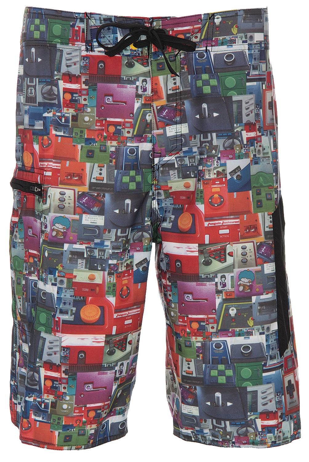 "Surf Stand out in a crowd with these ultra cool boardshorts, the Analog B Side Boardshorts. Made with a reversible poly double satin material, these shorts are super comfortable, ideal for active wear. Its design is quite eye-catching featuring a funky textured design. Perfect for summer, rock these shorts out at the beach and be noticed.Key Features of The Analog B Side Boardshorts: 22"" Outseam Reversible Poly Double Satin Side Cargo Pocket Tiger Thread Construction AG Zip Fly Logo Wax Comb - $13.95"