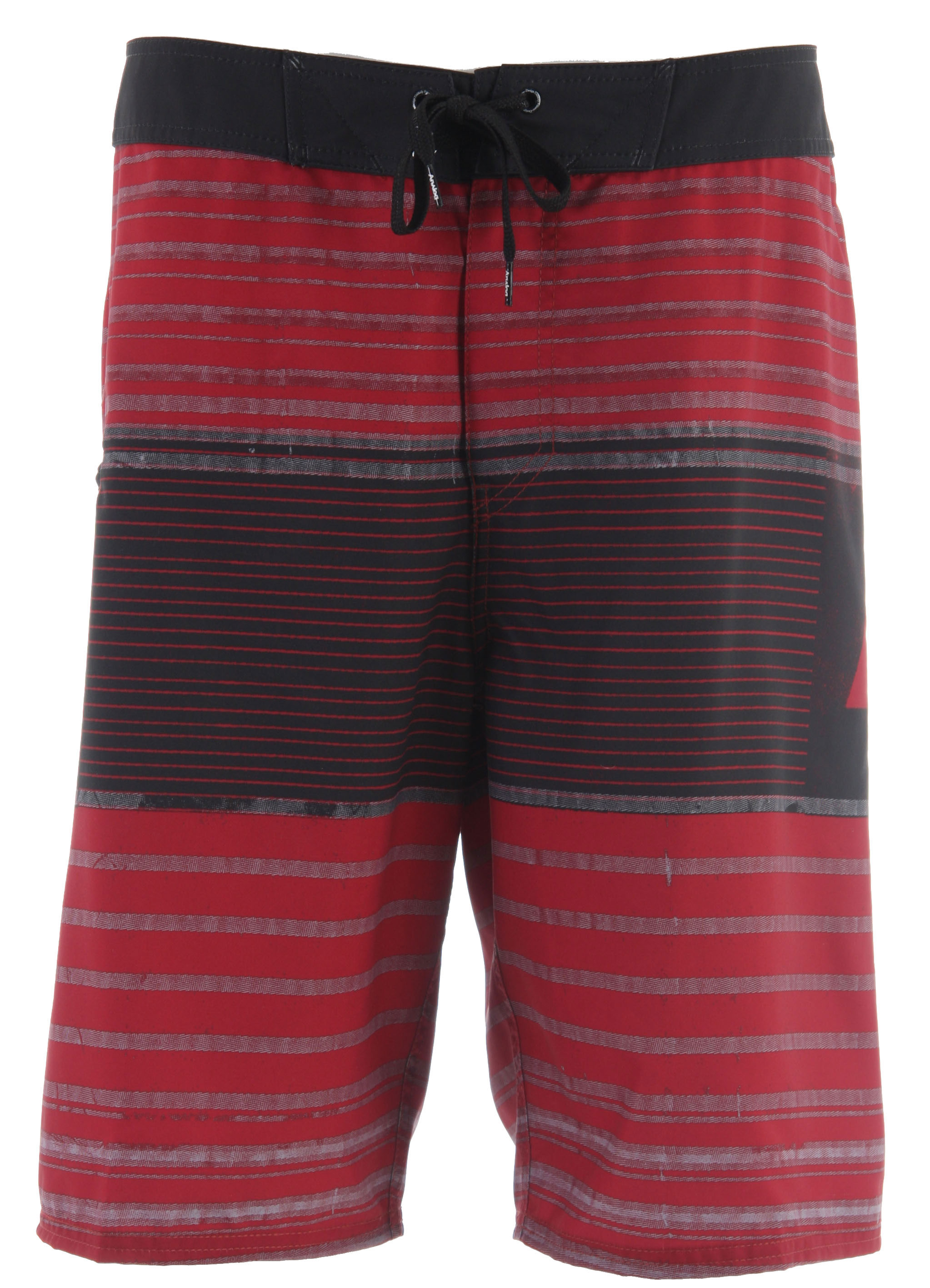 Surf Key Features of the Analog Locked Down Boardshorts: 100% Polyester 2-way stretch Zip fly Ant rash lycra facing at inside fly and inside front rise Blank house key Anti slip drawcord - $34.95