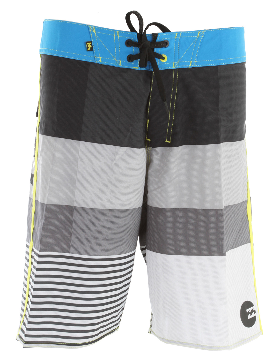 "Surf Key Features of the Billabong Komplete Boardshorts: 20"" recycler zero gravity Parkso's Recycler Platinum X quad stretch boardshort features a multicolor stripe breakup Solid waistband Side binding Wave patch Recycler ZG fabric light-weight with H2 Repel and epic stretch Made with 87% recycled polyester/13% spandex - $43.95"
