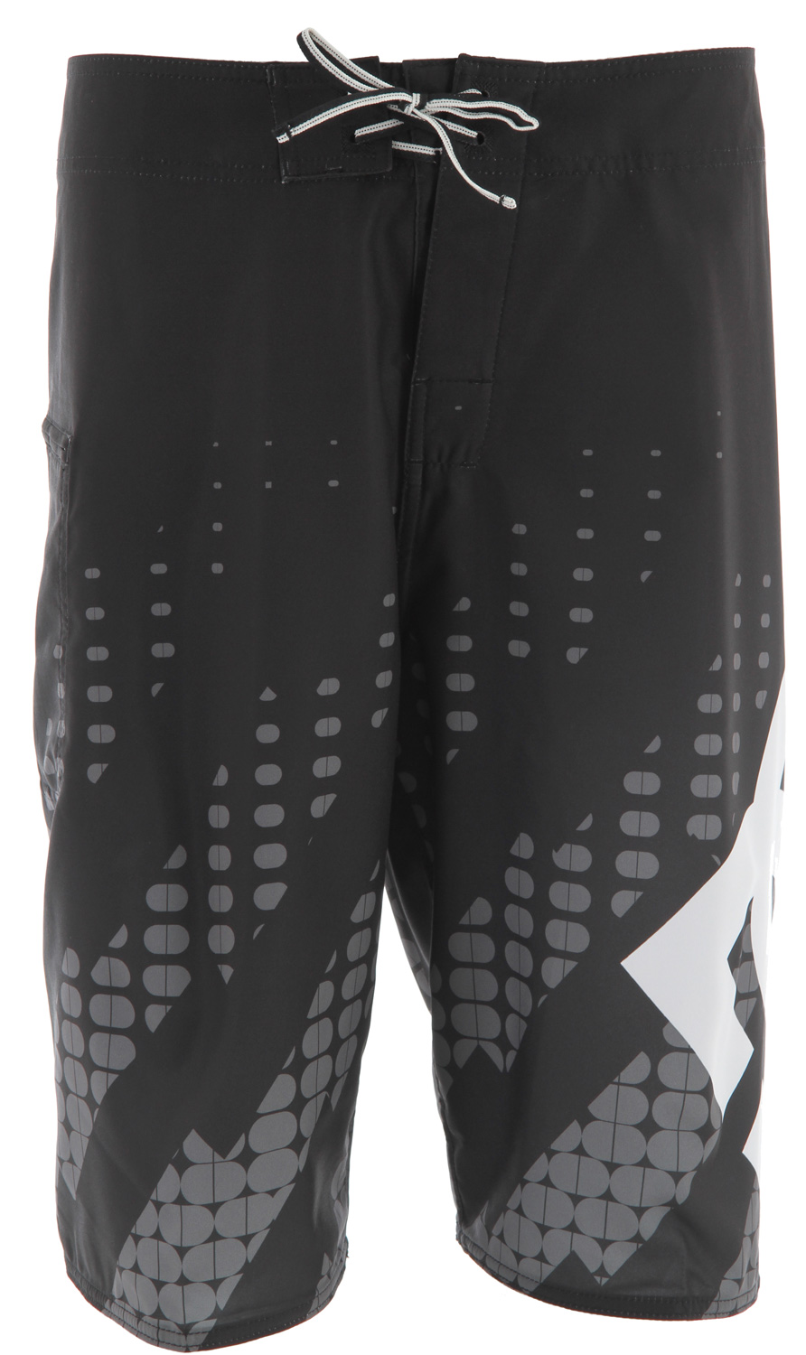 "Surf Key Features of the DC Exhaust Boardshorts: Zip pocket Neo fly Lycra lined bottoms Seamless side panels 22"" outseam 4 way mechanical stretch - $30.95"