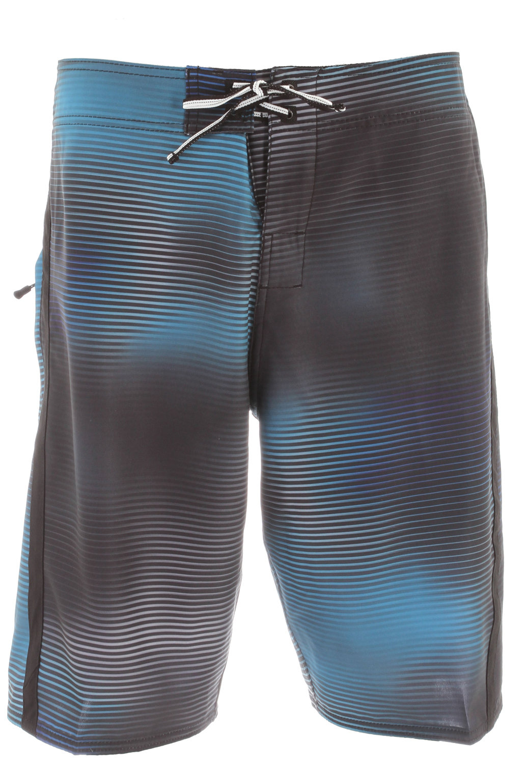 "Surf Key Features of the DC Nucleus Boardshorts: 4-Way Mechanical Stretch +Engineered Novelty Print Zip Pocket Neo Fly Embroidered Eyelets Lycra Lined Bottom Hems & Front Rise Seamless Side Panels Customized Trim 21"" 100% Polyester - $31.95"