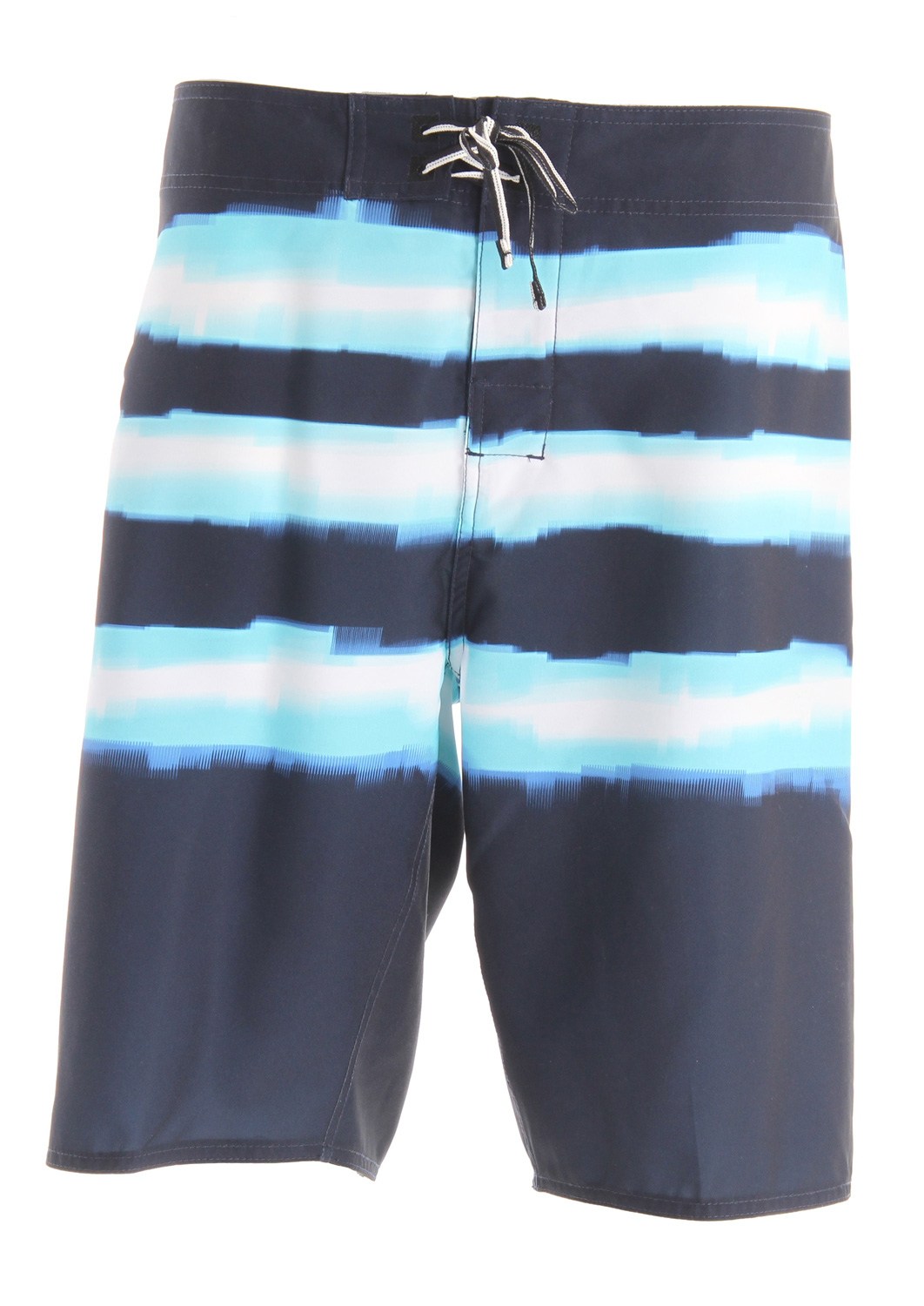 Surf Key Features of the DC Pulse Boardshorts: Engineered novelt print Zip pocket Neo fly Lycra lined front rise Seamless side panels Embroidered eyelets Customized trim 88% poly/12% deluxe dobby stretch - $33.95
