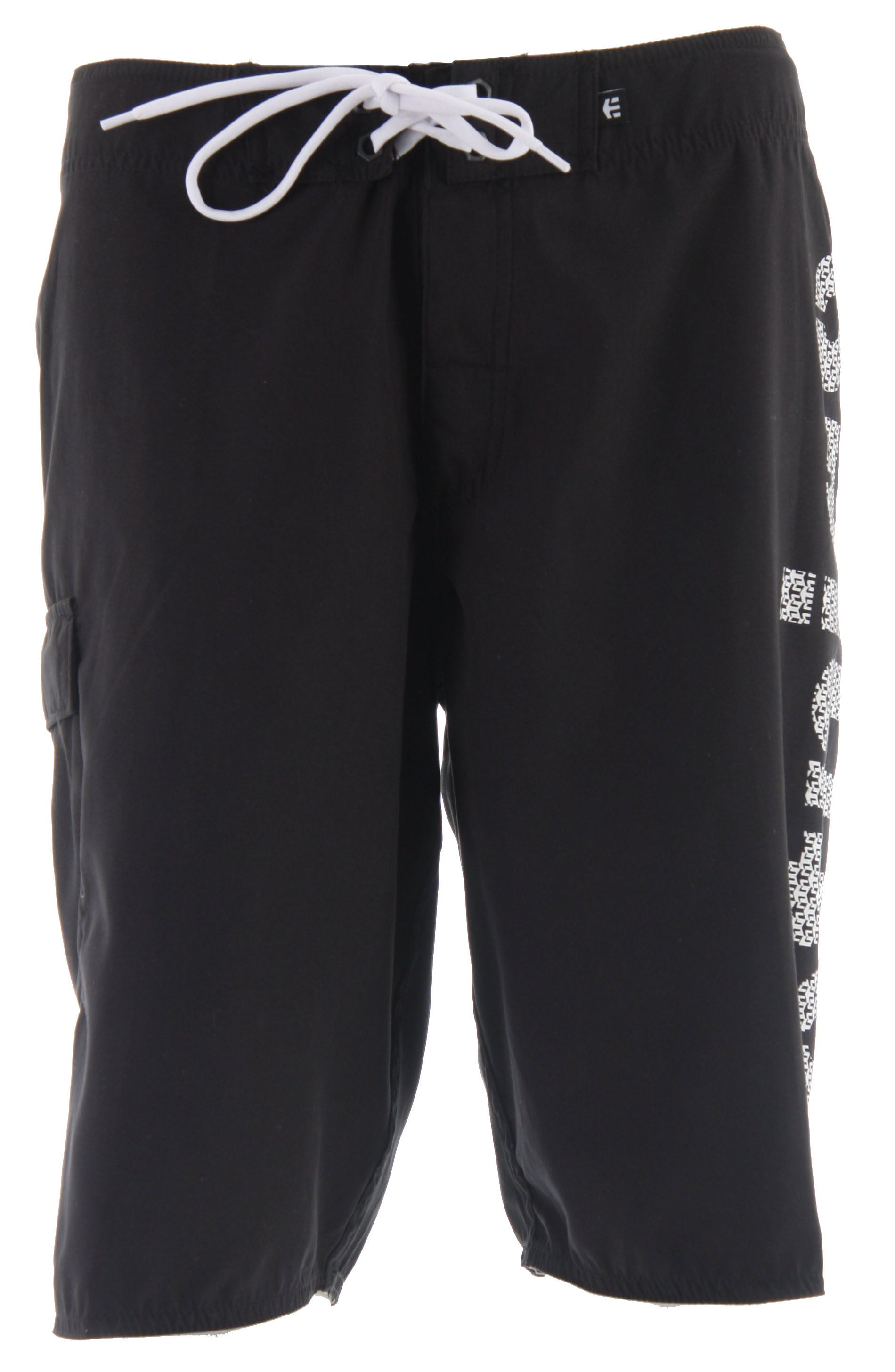 Skateboard Key Features of the Etnies Driver Boardshorts: 100% polyester Dynasuede board short Large etnies Stencil print at left leg Hollywood waistband - $34.95