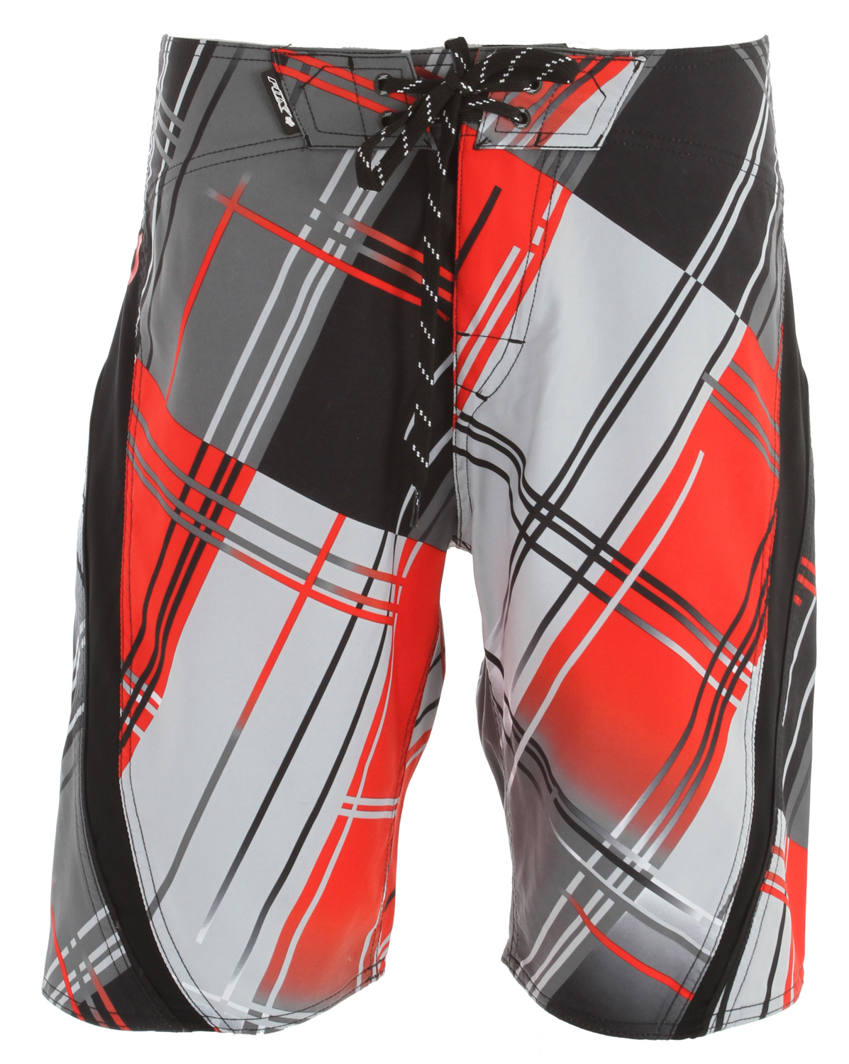 "Surf Key Features of the Fox Fade Out Boardshorts: 100% polyester microsuede Sublimated graphics Lycra side panels with flat piping and graphic Double welt pocket 22 3/4"" outseam - $41.95"