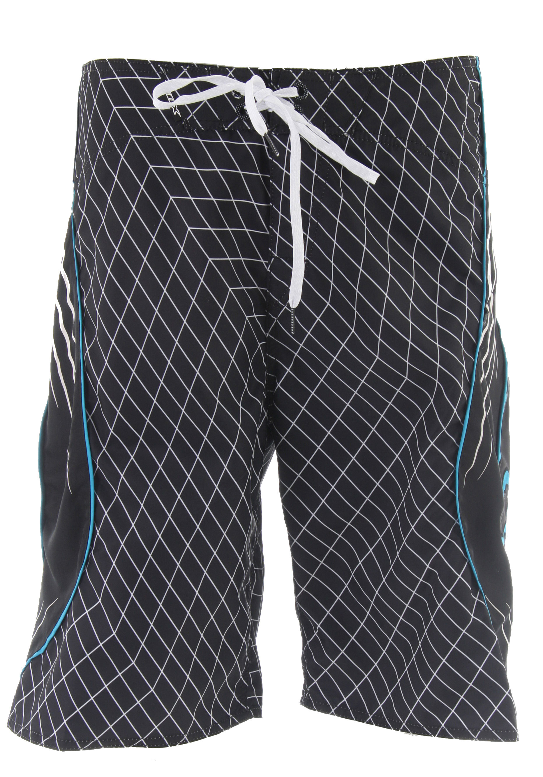 "Surf You can never have enough boardshorts, especially during a hot summer season. Style out with these fabulous plaid boardshorts and be sure to feel comfortable and cool. Fox Top Shelf Plaid Boardshorts are made with 100% polyester and have a velcro fly and drawstring waist. Micro-herringbone fabric offers extra comfort and soft to the touch, ideal for long summer days. Wear these out to the beach or the pool and feel comfortable in the sun.Key Features of the Fox Top Shelf Boardshorts: Top shelf design for our top Fox customers Curved line design and logo on side poly twill panels Micro-herringbone fabric offers extra comfort and soft hand feel. Regular fit sits slightly below the knee. Velcro fly and drawstring waist. 100% polyester herringbone. 22 1/2"" outseam. - $48.95"