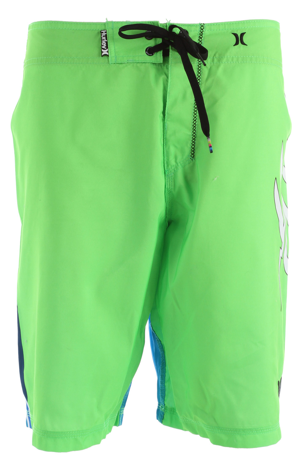 "Surf Key Features of the Hurley Bolt Boardshorts: 22"" Outseam Recycled Supersuede Patented EZ fly closure, embroidered and printed branding. - $32.95"