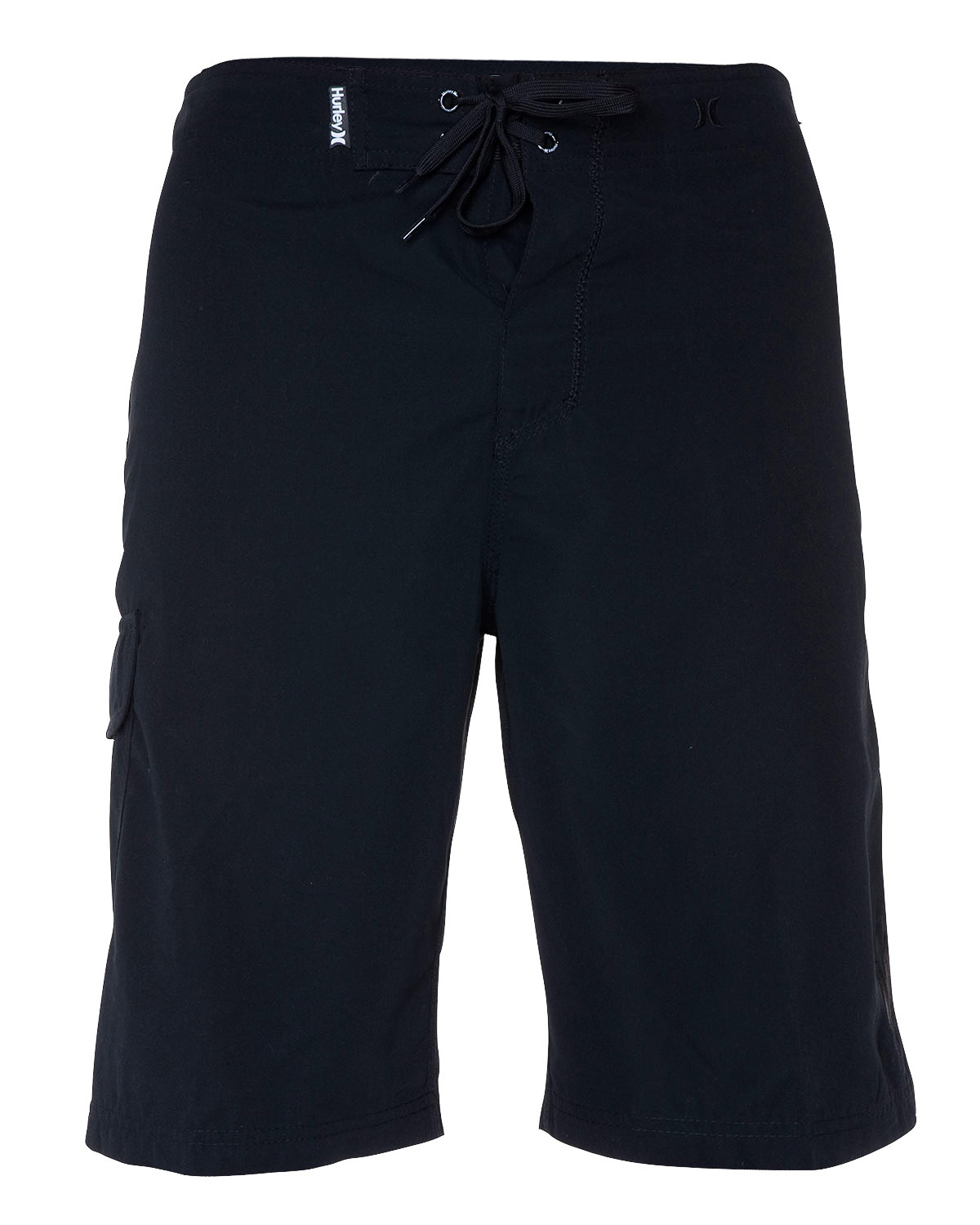 "Surf Key Features of the Hurley One & Only Boardshorts: 22"" outseam Recycled supersuede Patented EZ fly closure Embroidered logo Patch pocket with icon drainhole - $29.95"