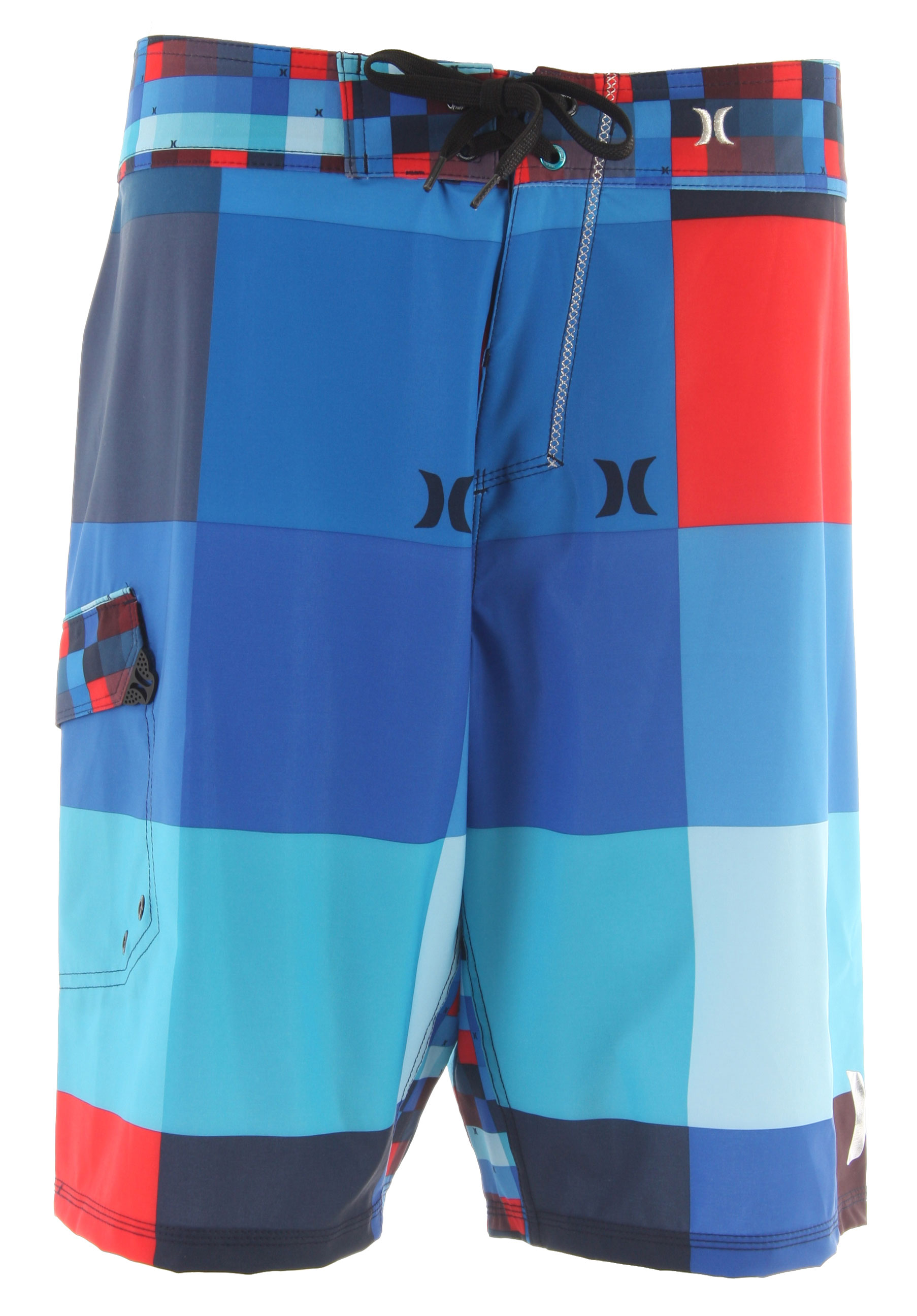 Surf Key Features of the Hurley Phantom 60 Kings Road Boardshorts: True Performance Fit Recycled Phantom 60% Stretch Seasonal Print Patented Ez Fly Closure Signature Foil Branding Metallic Embroidery Performance Water Repellency - $61.95