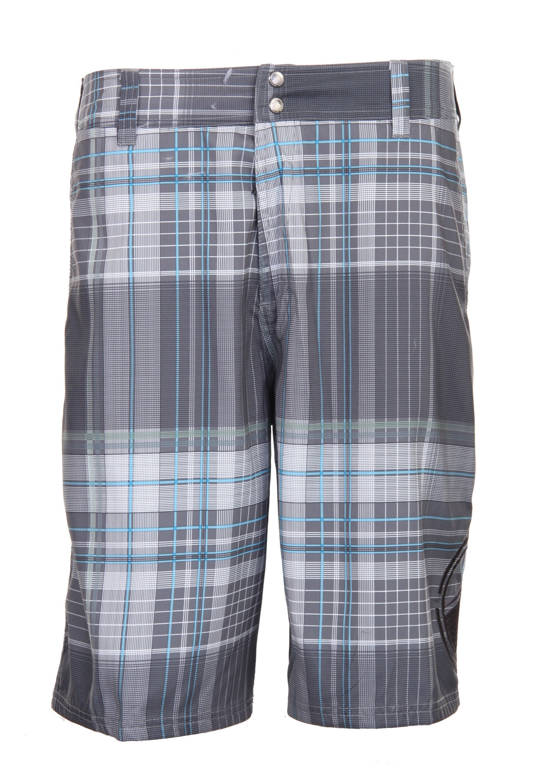 "Surf Look preppy with these plaid designed boardshorts. Be different and wear prints with confidence. The Liquid Force Plaidskis Boardshort is perfect to add that needed texture and print to your outfit. Subtle enough to wear everywhere, pair it with a summer tank top or T-shirt and your outfit is complete. Get ready to hit the beach with this ultra comfortable, 100% polyester made boardshorts.Key Features of The Liquid Force Plaidskis Boardshorts: Sublimated Quick Dry Megasuede 22"" Outseam Snap Front Waist with Lycra Fly Closure Front Side Seam Trouser Pockets 2 Back Flap Pockets with Velcro Closure 100% Polyester - $20.96"