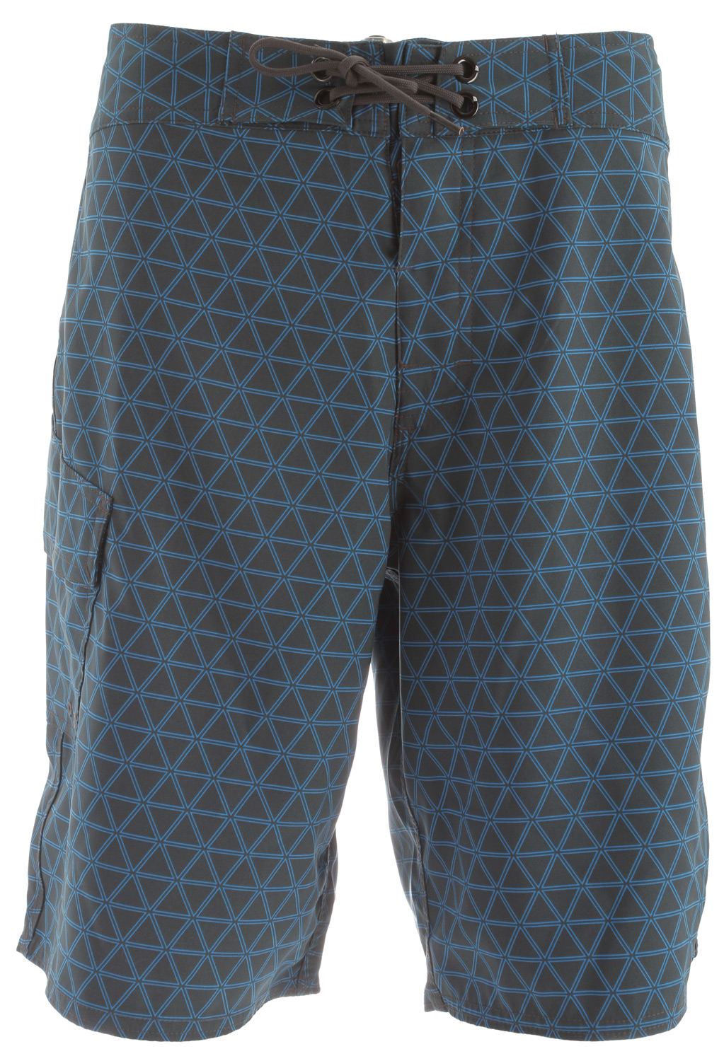 Surf Key Features of the The North Face Class V Stretch Printed Boardshorts: Fabric: 176 g/m2 100% polyester with mechanical stretch Lightweight, quick-drying, abrasion resistant Ultraviolet protection factor (UPF) 50 Boardshort waist tie with fly gusset Side utility pocket - $38.95