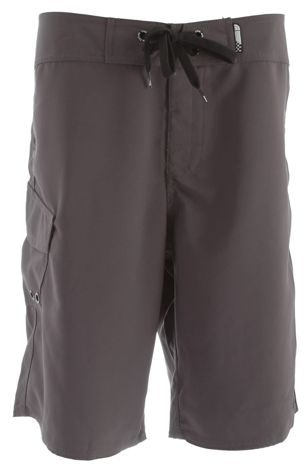 Surf Key Features of the The North Face Hodad Boardshorts: Fabric: 170 g/m2 50% recycled polyester, 50% polyester with mechanical stretch No shirt, no shoes, no problem. A simple, straightforward boardshort that's ready for summer. Ultraviolet protection factor (UPF) 50 Center front drawcord closure with hook-and-loop opening Anti-chlorine 5 ppm Anti-UV Flap cargo pocket with key hook Triple needle reinforcement stitching at outseams - $32.95