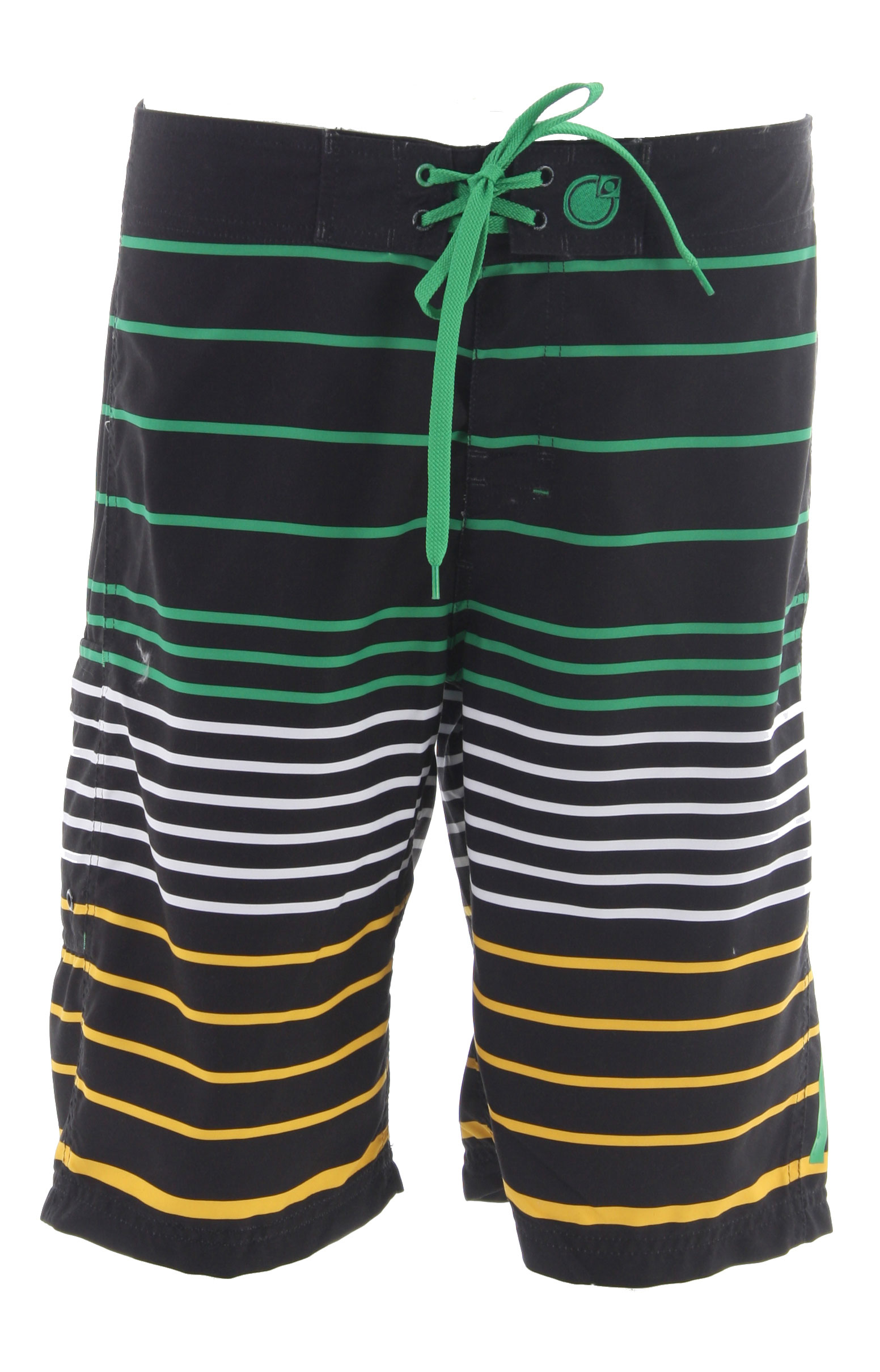 Surf I wish I could tell you that the Nomis Lines Boardshort will make you better at catching a football. They sure helped Derek Dennison. 100% Poly. - $35.95