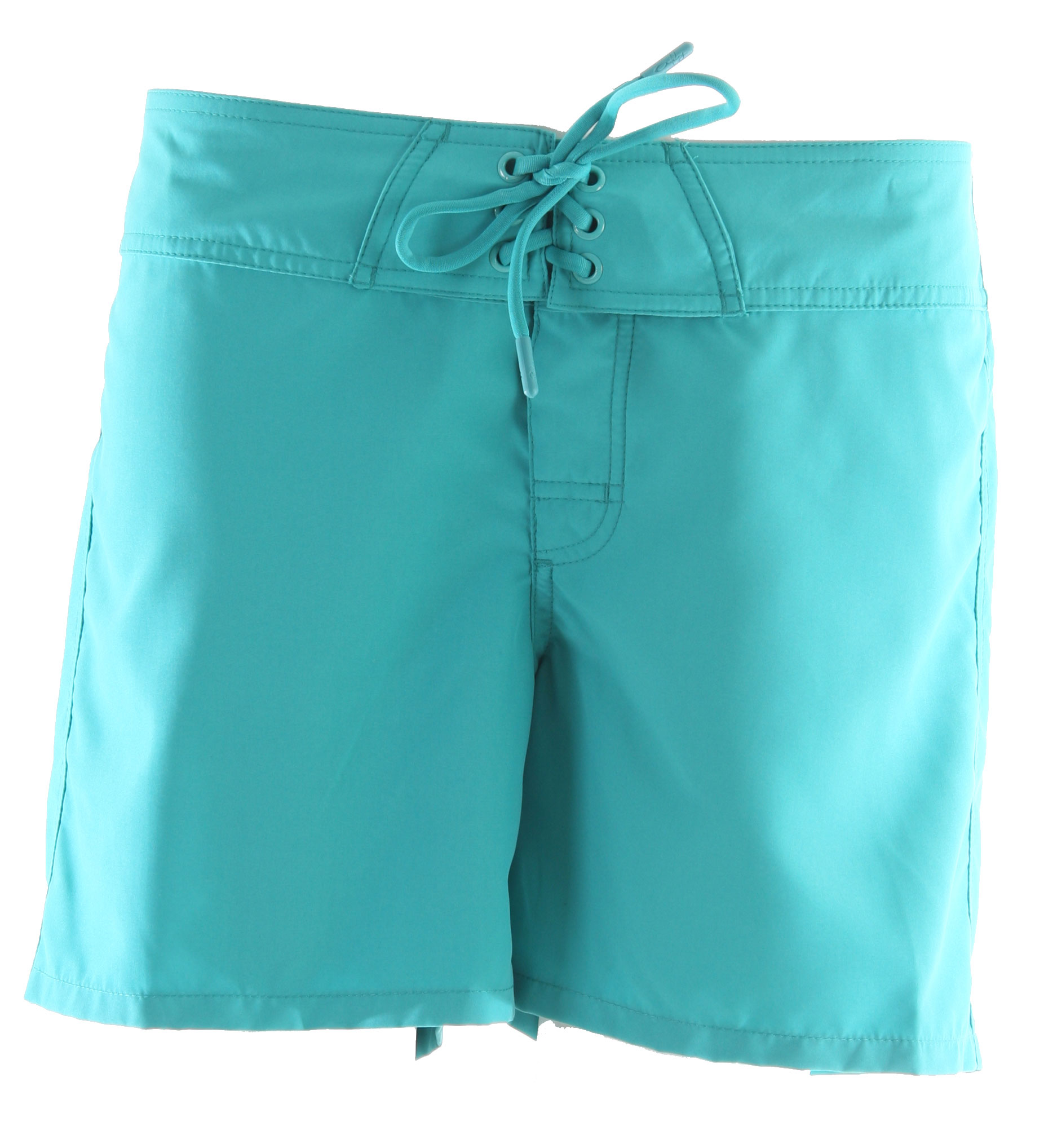 "Surf Key Features of the Oakley Comber Boardshorts: 5"" solid microsuede boardshort with stretch fly Drawcord front Back pocket with velcro and heat seal logo on back waistband - $22.95"
