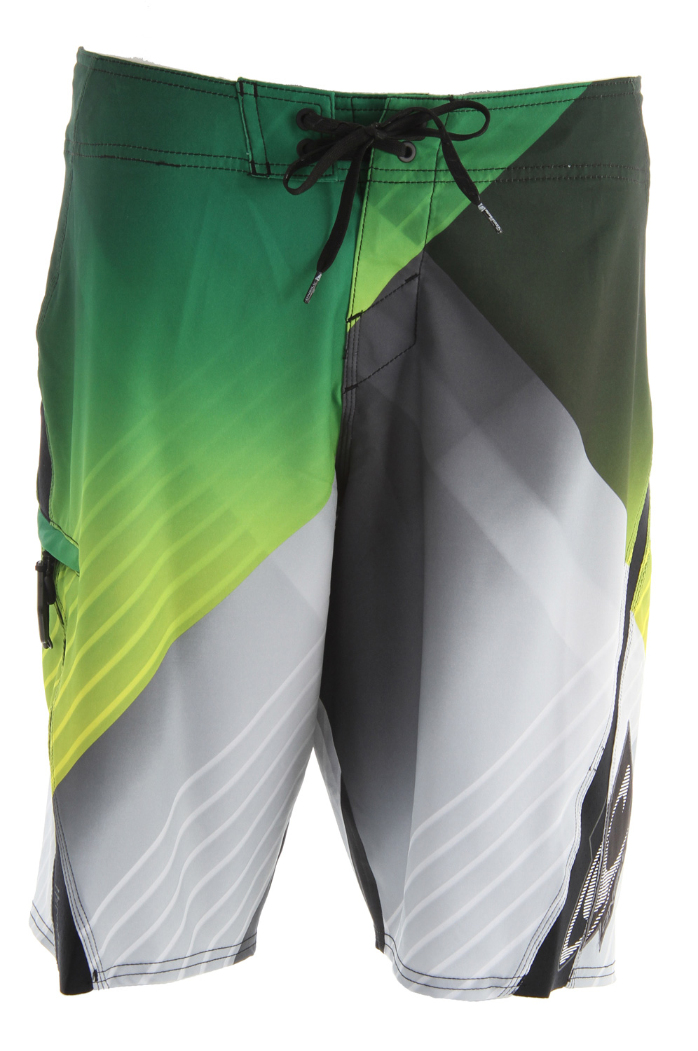 "Surf Key Features of the O'Neill Lopez Freak Boardshorts: New psychostretch 21"" ousteam Engineered printed boardshort Hyperprene stretch panels Superfly 2.0 closure Locking drawcord Welt zip pocket Embroidered, appliqued and screened logos - $62.00"