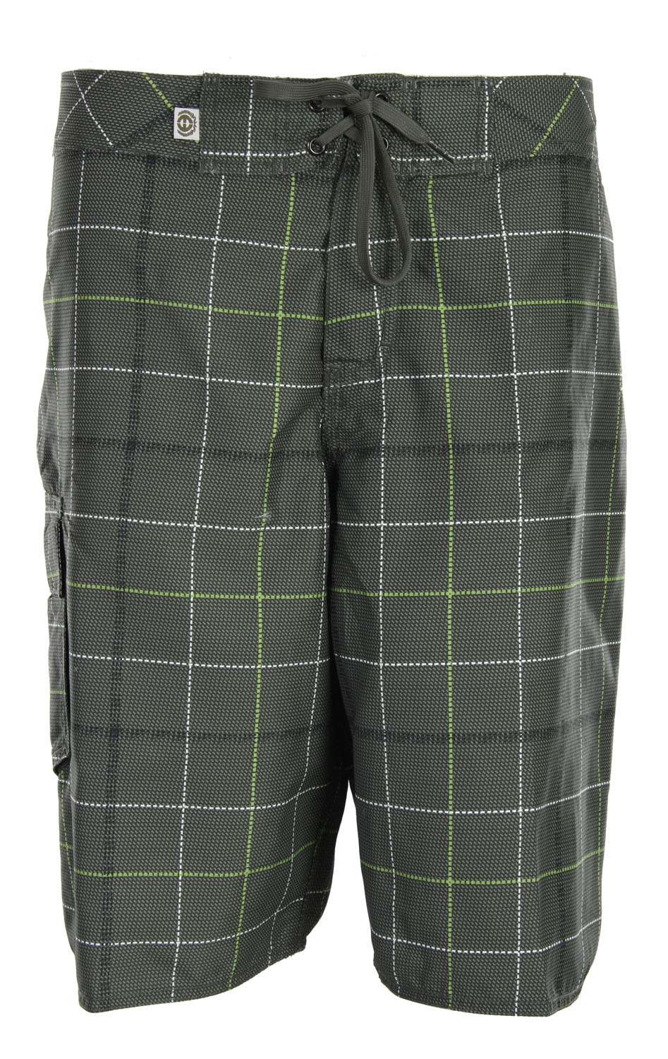 "Surf The Planet Earth Crawford Boardshorts features a casual plaid design all throughout. Featuring one single cargo pocket, it surely adds a bit of character to these shorts. Made with 100% recycled polyester, comfort is guaranteed. Super ideal for daytime wear, rock these to the beach or head out to lunch with a friend. They're absolutely perfect for summer.Key Features of The Planet Earth Crawford Boardshorts: 100% Recycled Polyester PET Single Cargo Pocket Outseam: 21"" - $16.95"