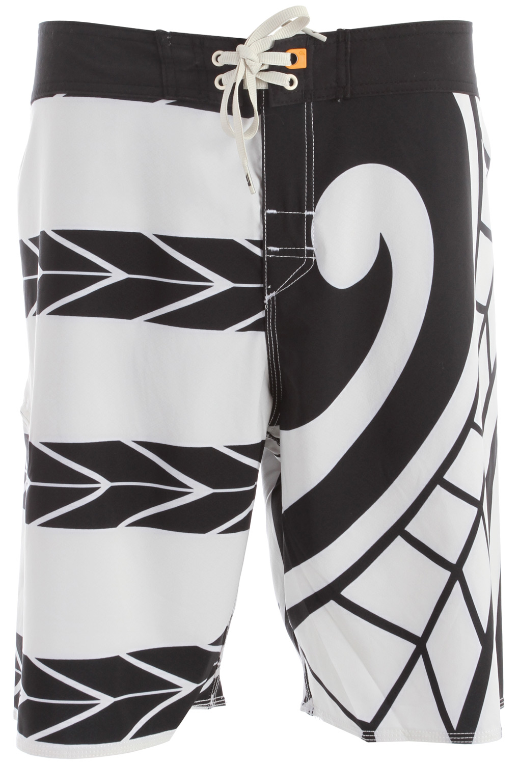 "Surf Key Features of the Quiksilver Brudda Boardshorts: Raimana's signature engineered printed 4-way stretch diamond dobby boardshort 94% recycled polyester, 6% spandex 4-way stretch diamond dobby 20"" outseam - $65.00"