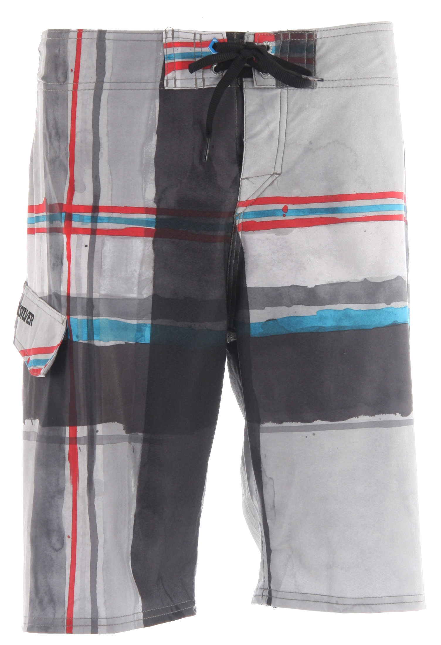 "Surf Hey buddy, why don't you just jump off a short pier. With your board. In these Cypher Short Pier boardshorts.Key Features of the Quiksilver Cypher Short Pier 21"" Boardshorts: 88% Polyester, 12% spandex 4 way Stretch Diamond Dobby 21"" Outseam Double tie with the new Neo Fly 2.0 stretch stitch at hems lycra at inside front rise custom embroidery eyelets and hangtrag Machine Wash - $38.95"