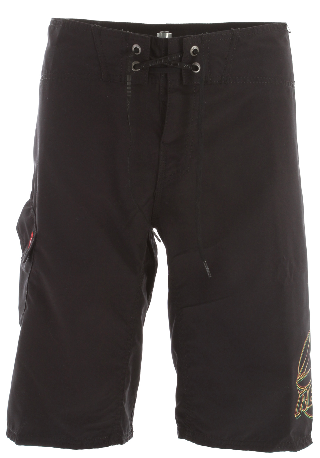 "Surf Key Features of the Reef Ponto Beach 2 Boardshorts: Pro-am microfiber 100% polyester 22"" outseam - $25.95"