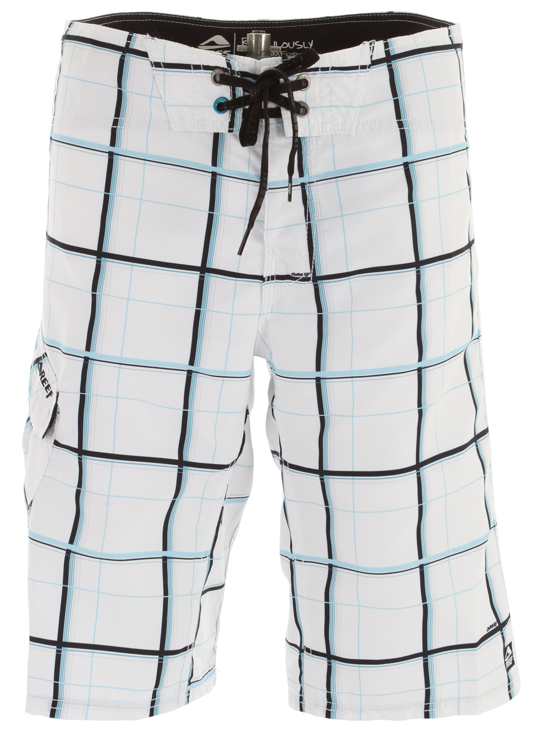 "Surf Key Features of the Reef Pundakit Boardshorts: Pro-am microfiber 100% polyester 22"" outseam - $38.95"