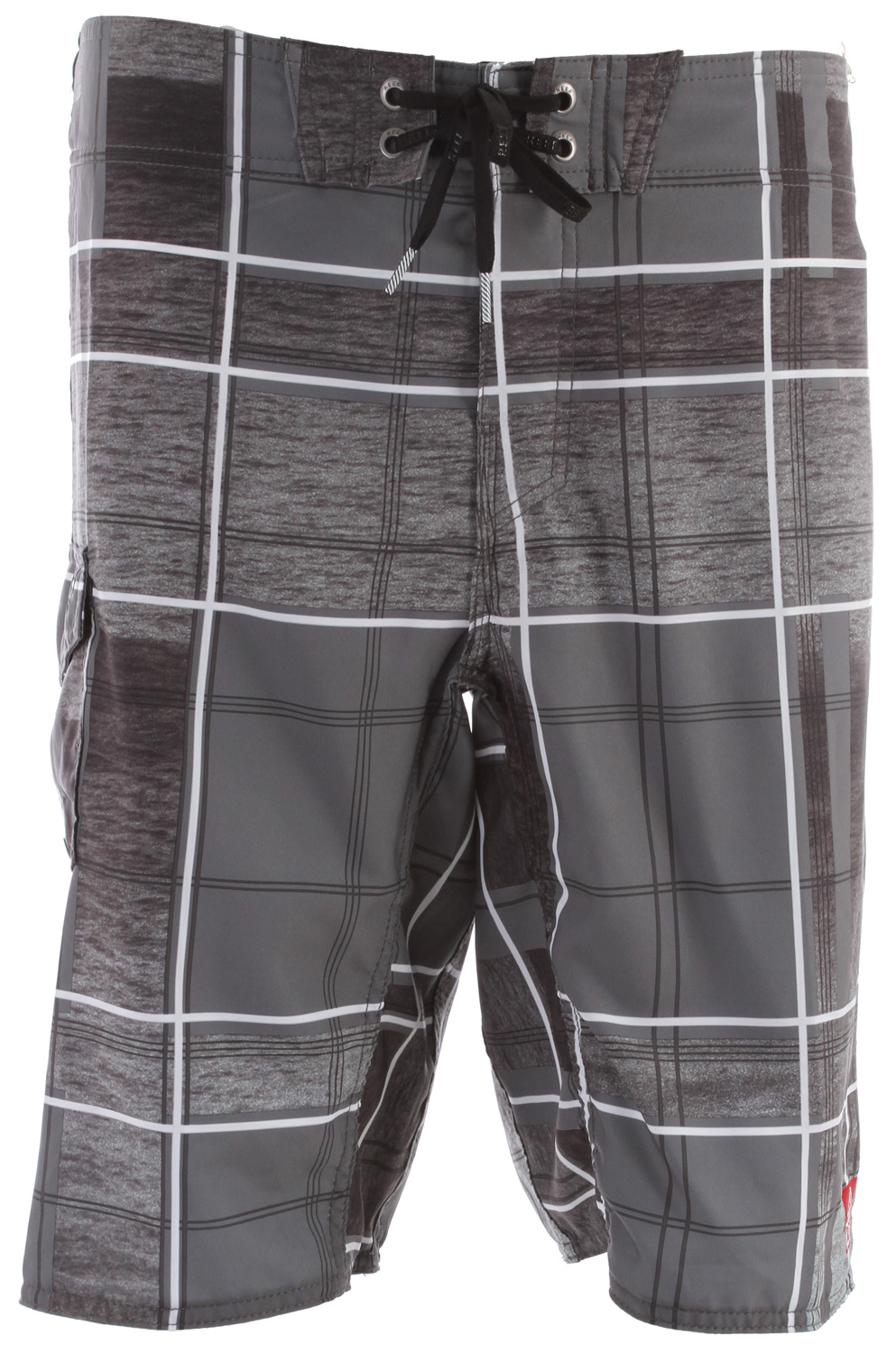 "Surf Key Features of the Reef Salt Ponds II Boardshorts: Recycled mechanical stretch 50% recycled polyester, 50% polyester side patch pocket 21"" outseam standard fit - $58.00"