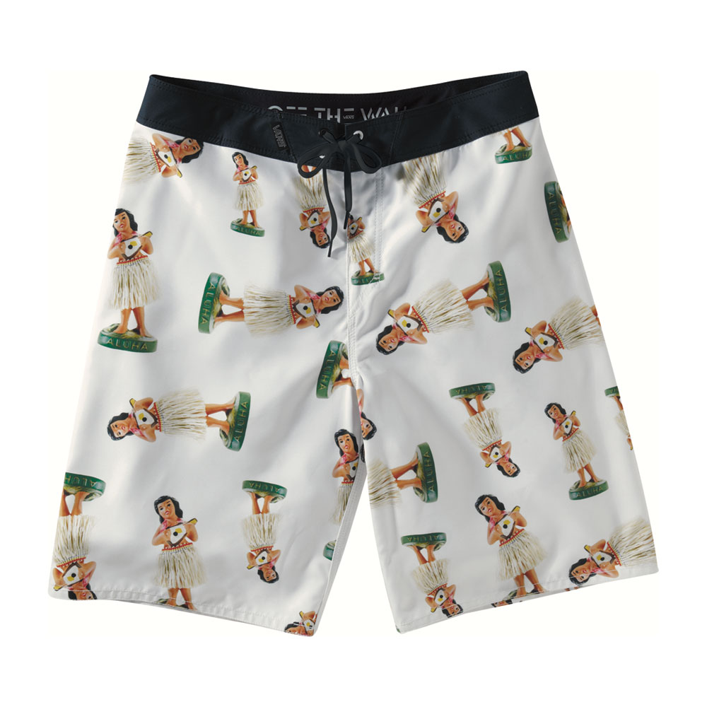 "Skateboard Key Features of the Vans Hula 22"" Boardshorts: Classic polysuede boardshorts with seamless outseam and v-fly construction - $46.95"