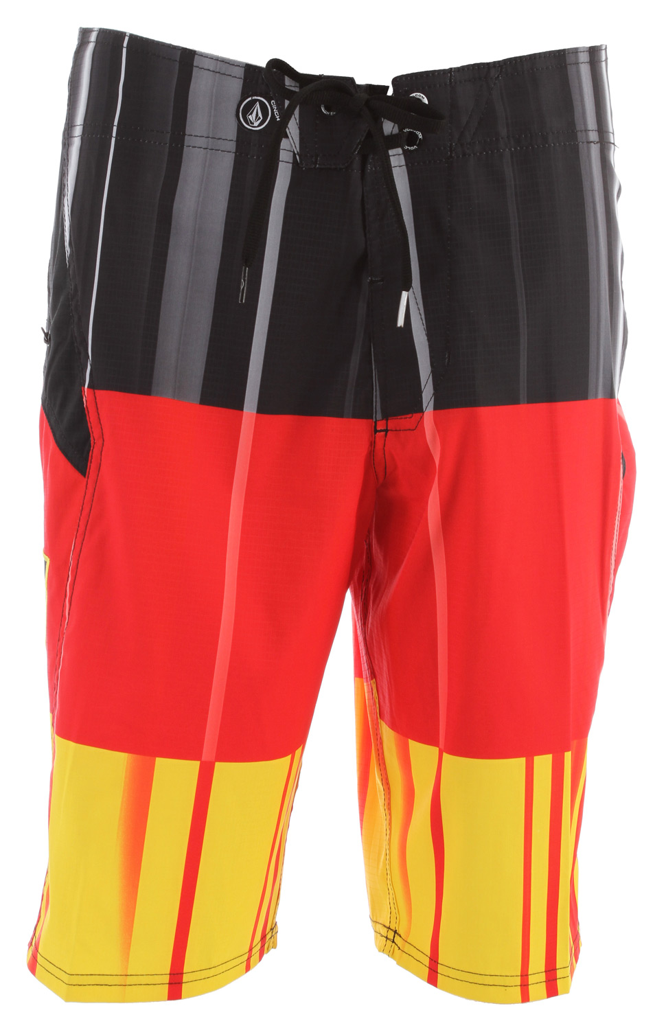 Surf Volcom Annihilator Stripe Boardshorts Drip Red - $44.95