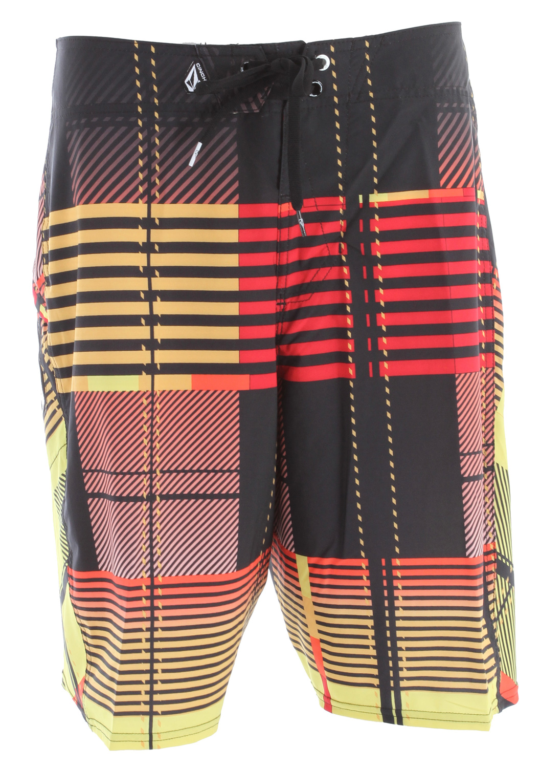 "Surf Key Features of the Volcom Gunshot Boardshorts: 21"" outseam Volcom 4-way stretch with water repellent treatment Stone mesh side panels, no inseam Welt zip pocket stretch hem Cinch fly technology 87% polyester/13% elastane 4-way-stretch with DWR - $40.95"