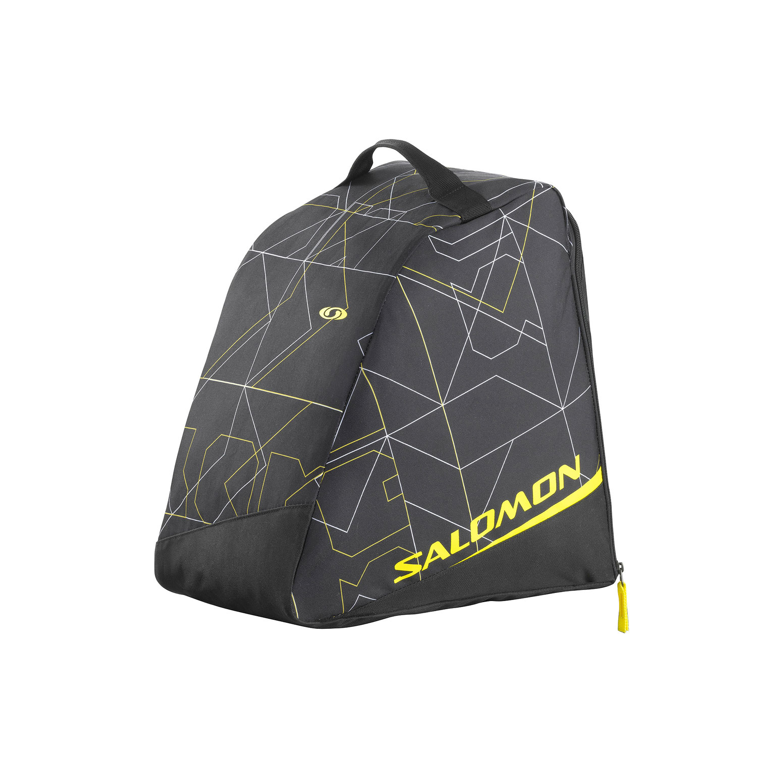 Camp and Hike Simple, light weight boot bag with easy to use storage space. great value.Key Features of the Salomon Boot Bag: Top Handle Waterproof Bottom Large Opening Boots Compartment 200 G / 0.4Lb 7Oz 32 L / 1953 Ci 39 X 23 X 38 Cm 600D Pes Tpe Pvc Free - $25.00