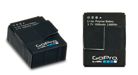 Use this 1050 mAH lithium-ion rechargeable battery as a spare or replacement for your HERO3 camera. - $19.99